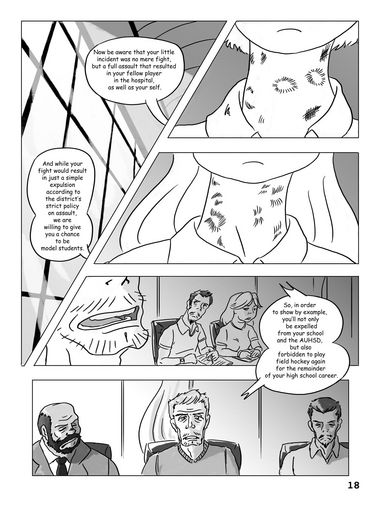 Hockey, Love, & GUTS! – Chapter 2 – Page 18