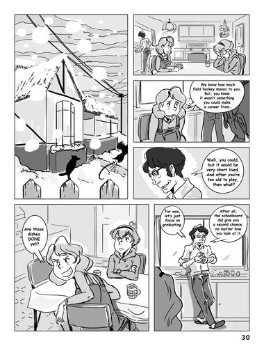 Hockey, Love, & GUTS! – Chapter 3 – Page 30