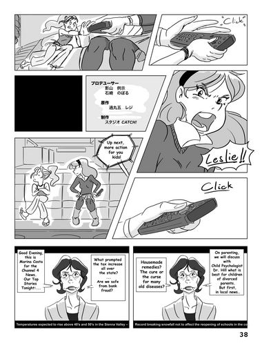 Hockey, Love, & GUTS! – Chapter 3 – Page 38