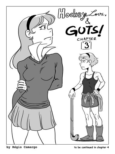Hockey, Love, & GUTS! – Chapter 3 – Page 43