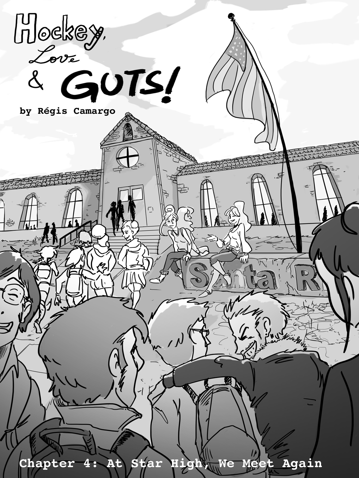 Hockey, Love, & GUTS! – Chapter 4 – Page 44