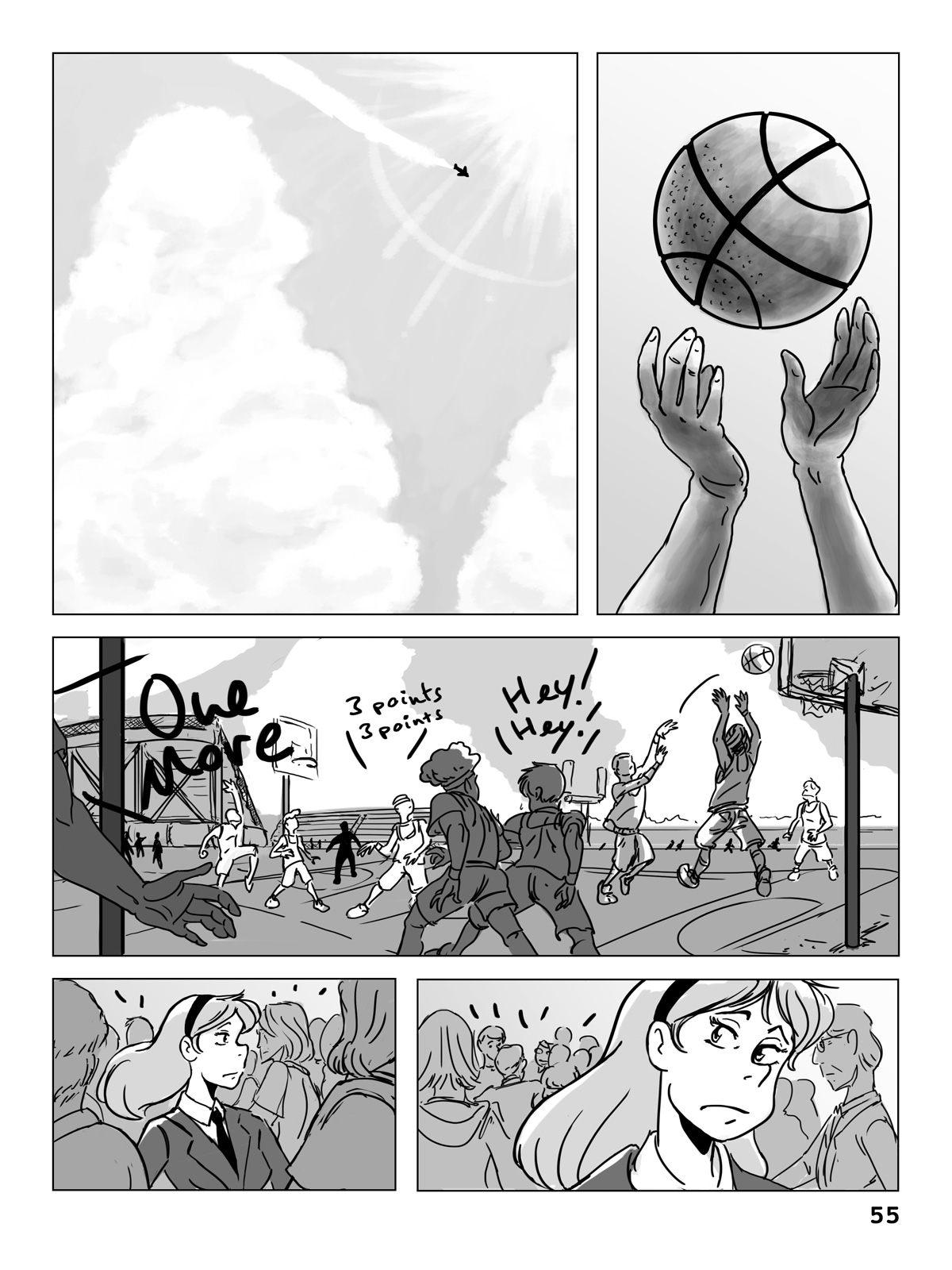 Hockey, Love, & GUTS! – Chapter 4 – Page 55