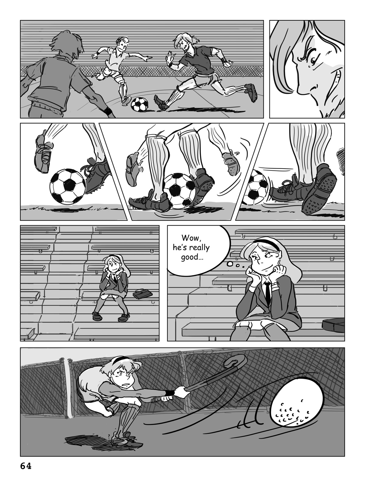Hockey, Love, & GUTS! – Chapter 4 – Page 64
