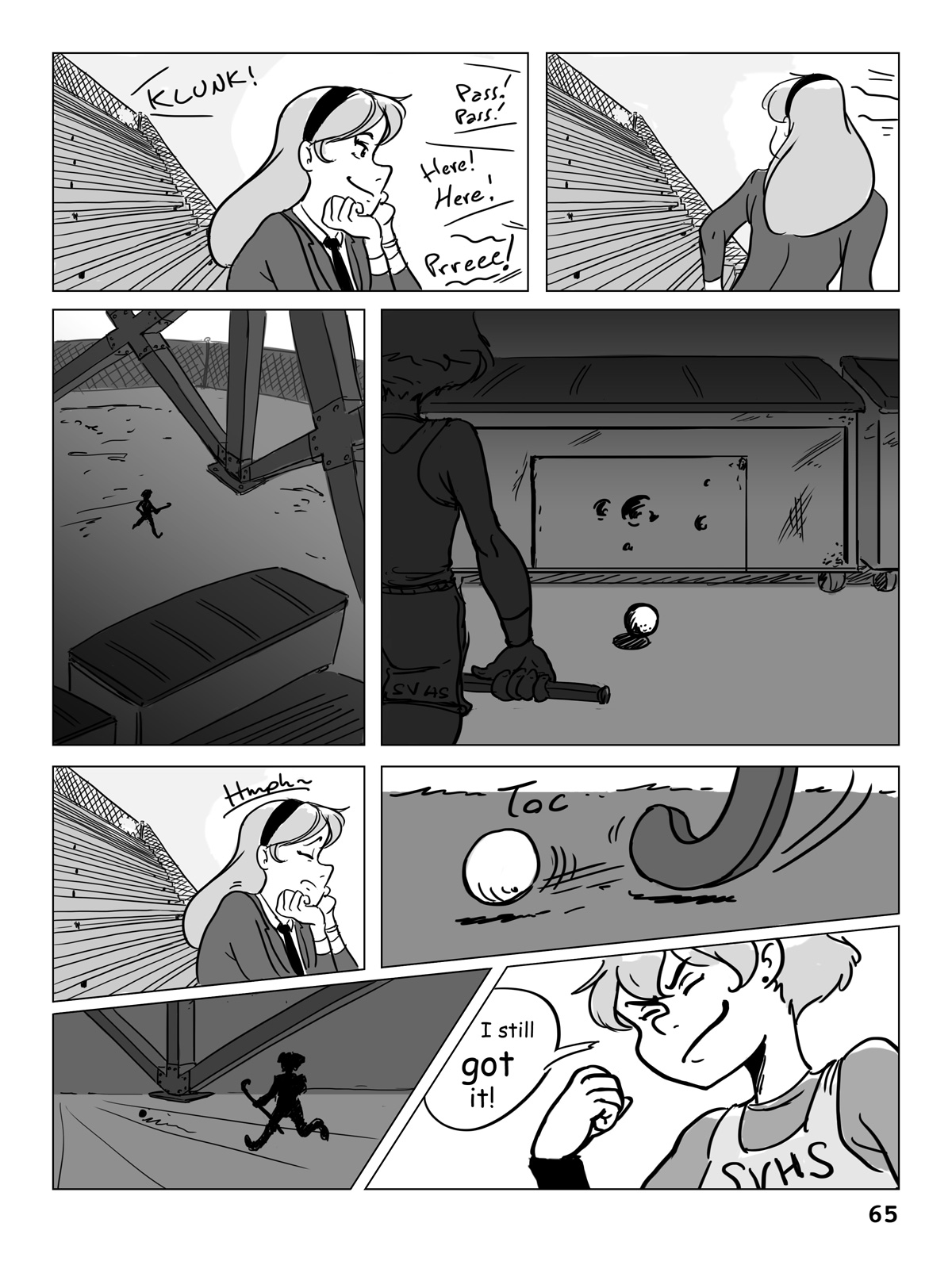 Hockey, Love, & GUTS! – Chapter 4 – Page 65