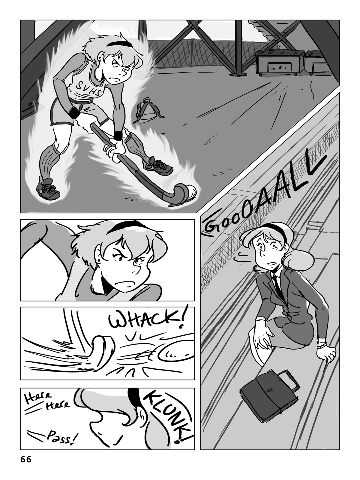 Hockey, Love, & GUTS! – Chapter 4 – Page 66