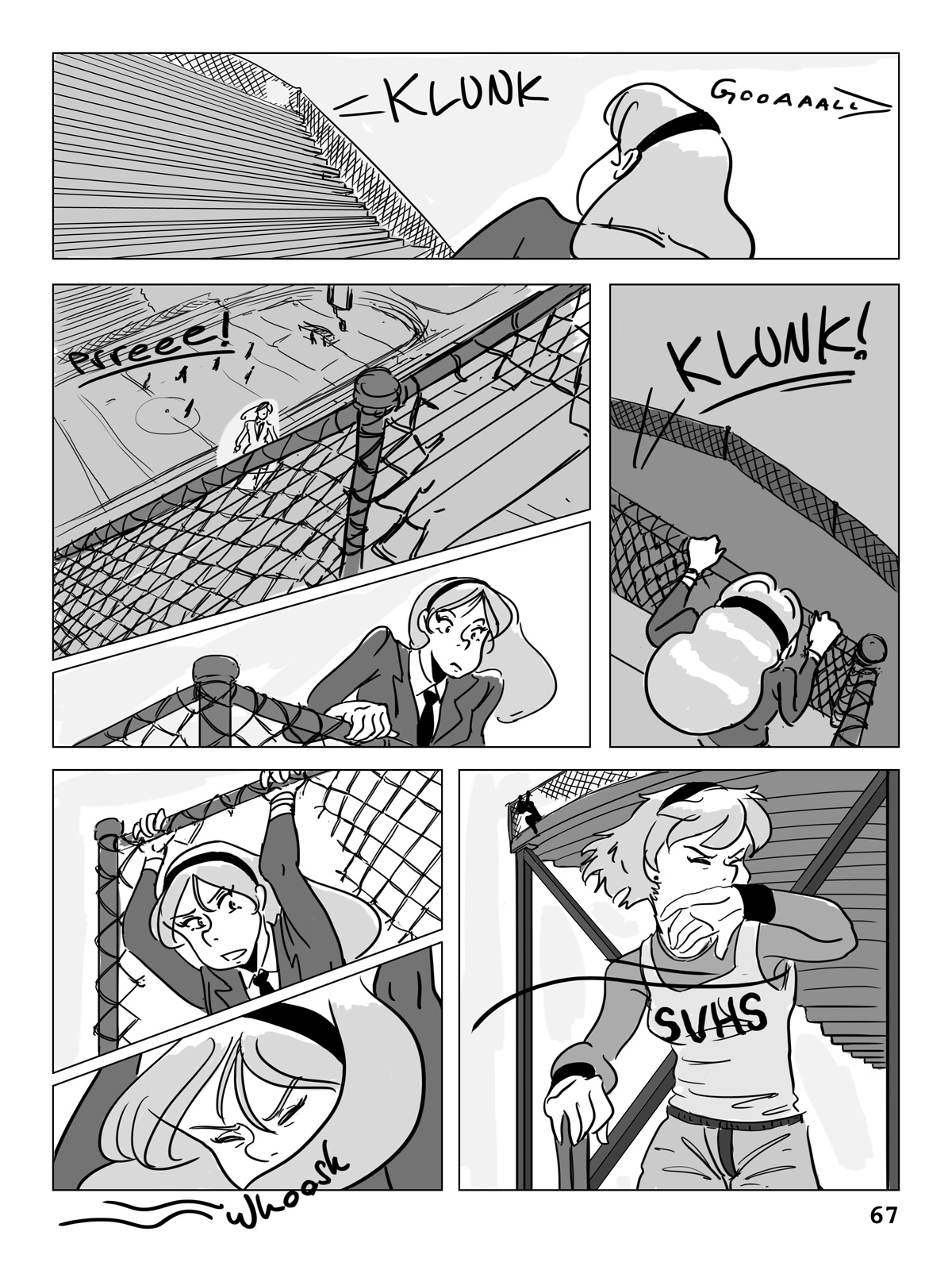 Hockey, Love, & GUTS! – Chapter 4 – Page 67