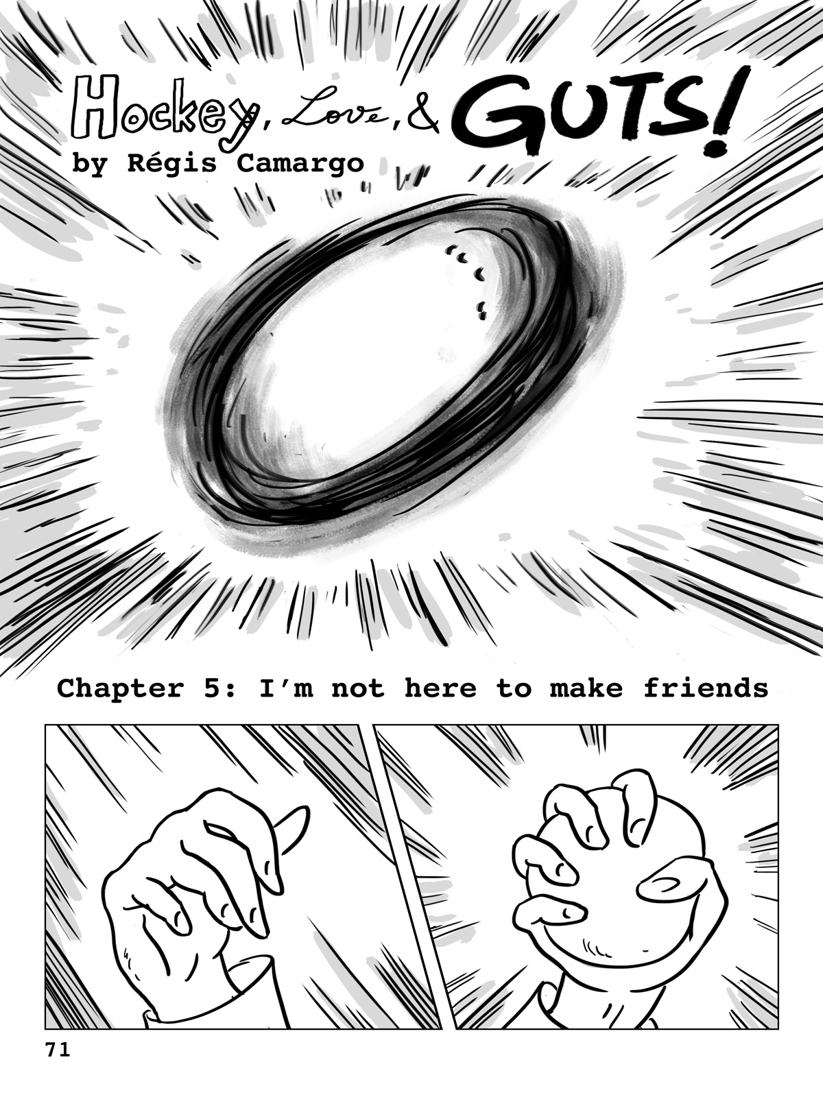 Hockey, Love, & GUTS! – Chapter 5 – Page 71