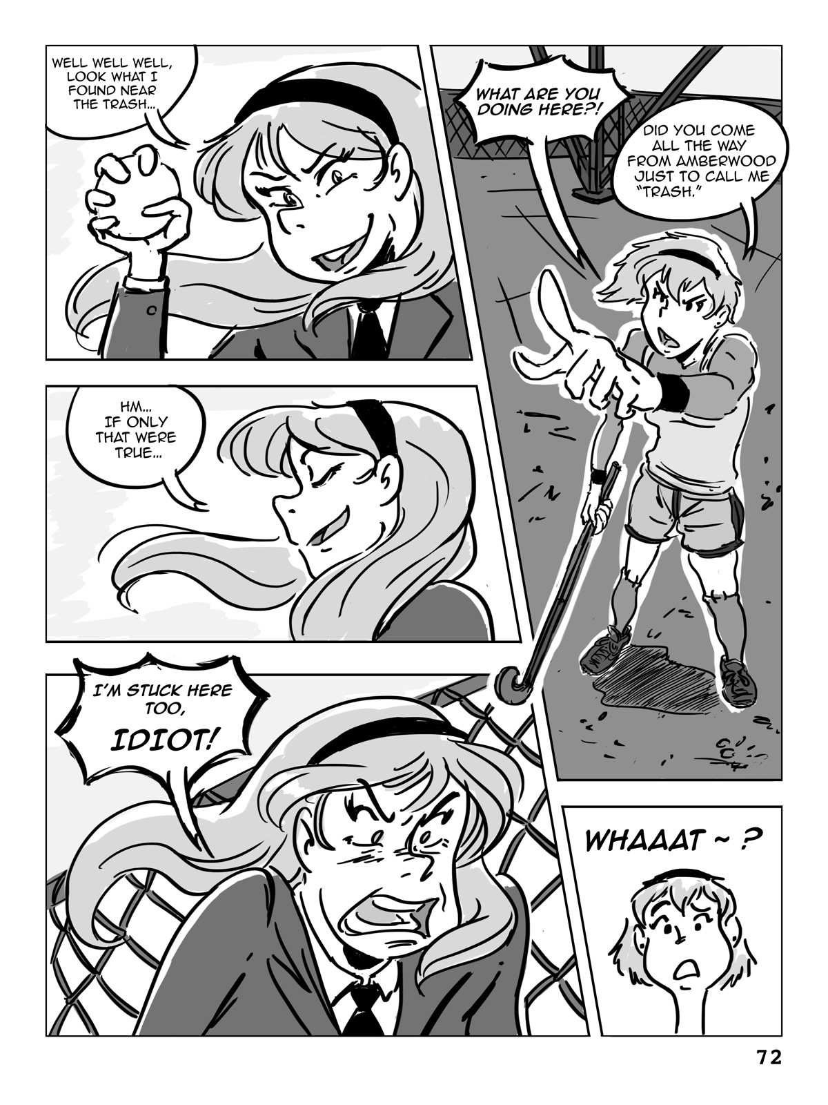 Hockey, Love, & GUTS! – Chapter 5 – Page 72