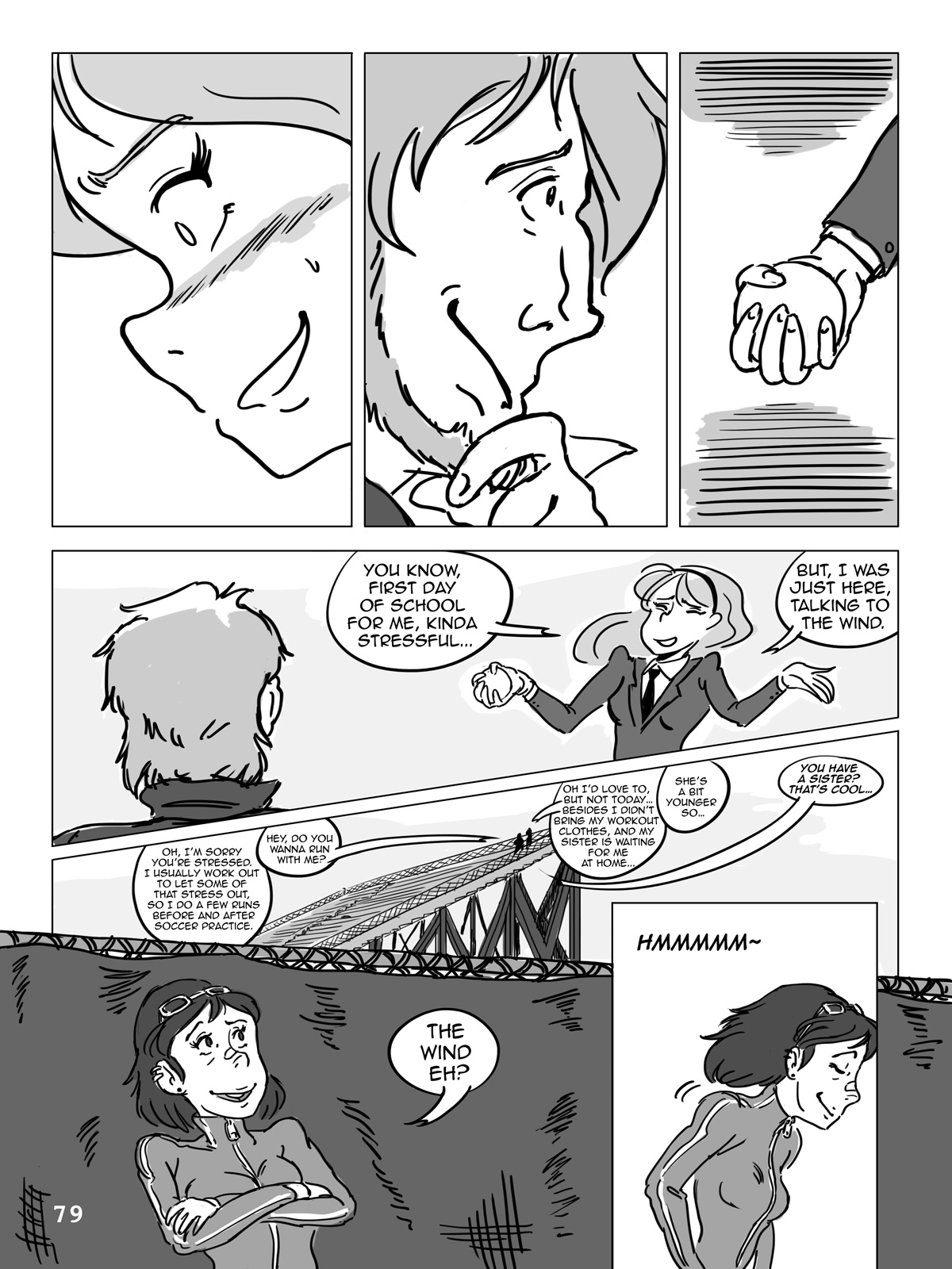 Hockey, Love, & GUTS! – Chapter 5 – Page 79