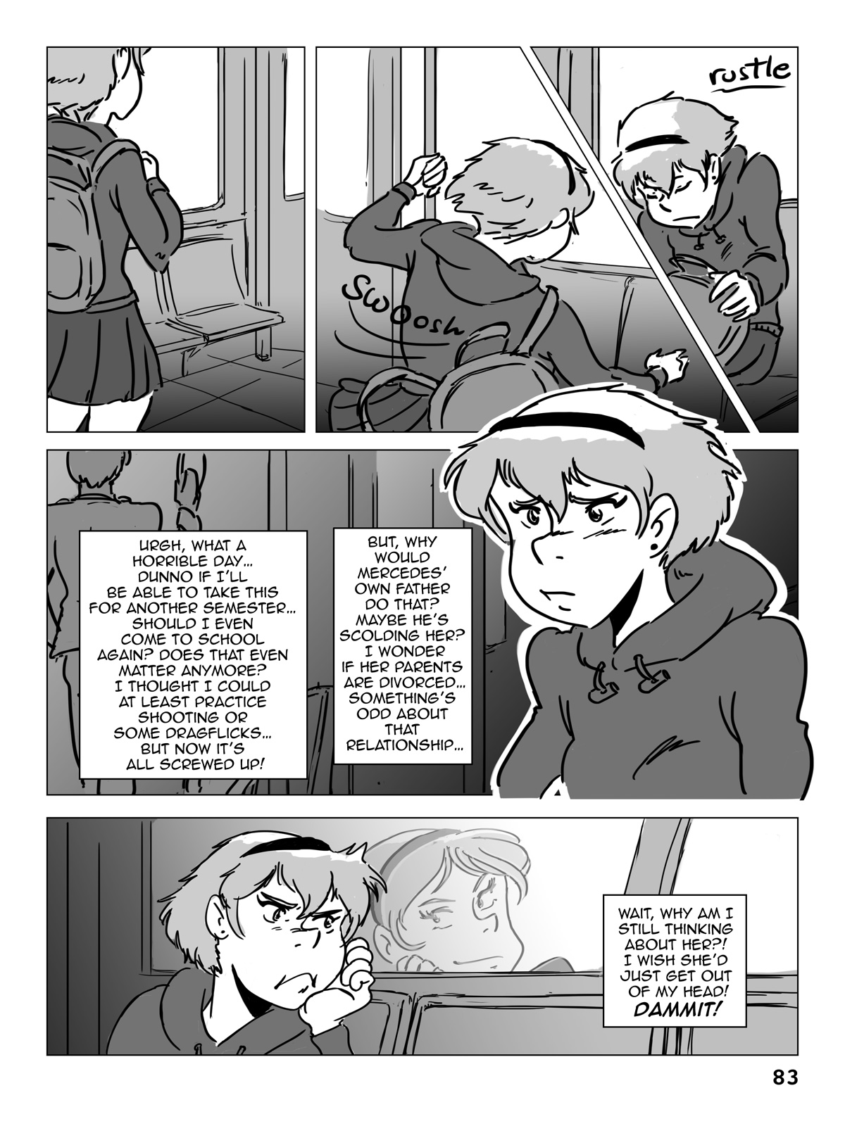 Hockey, Love, & GUTS! – Chapter 5 – Page 83
