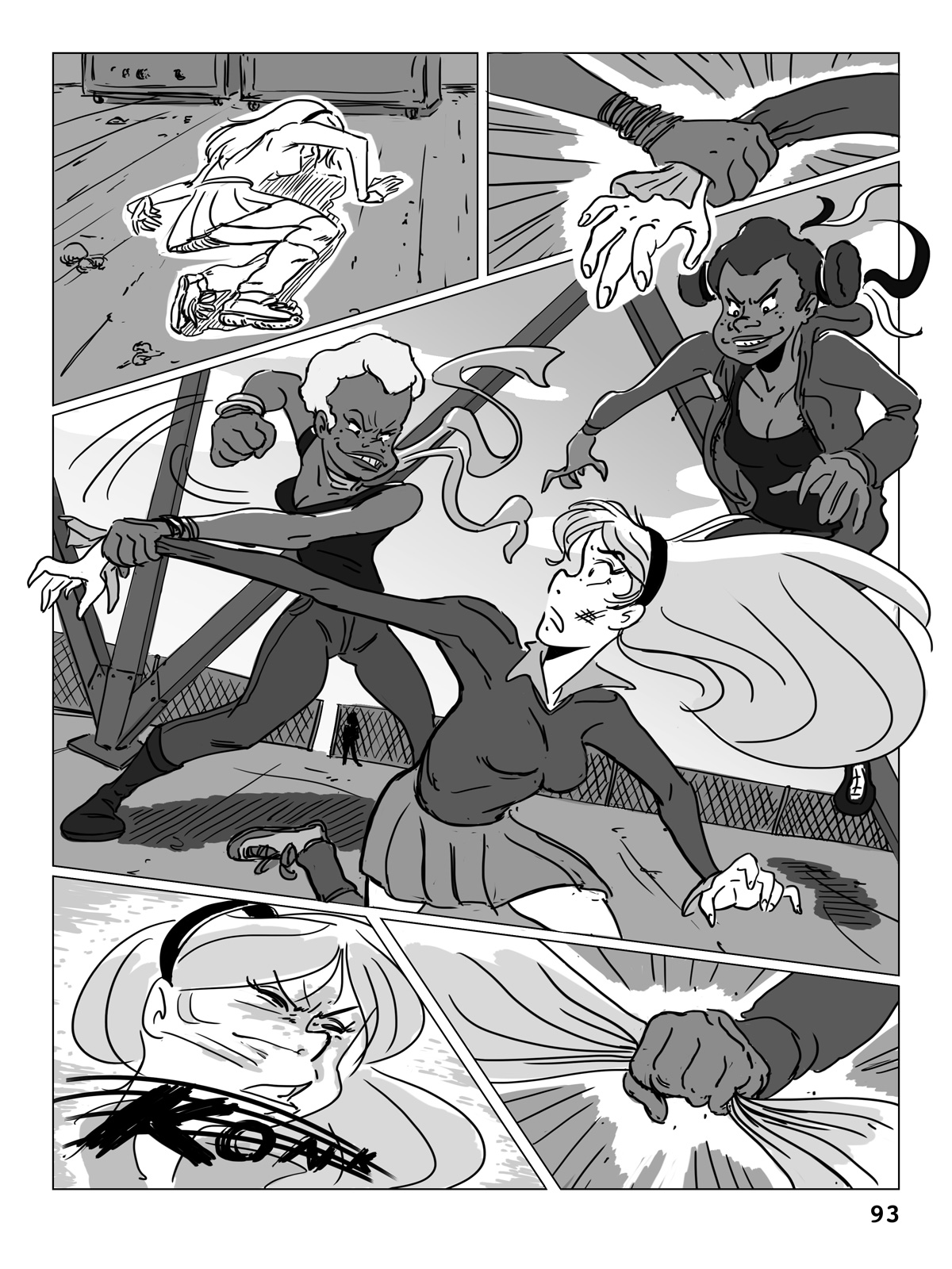 Hockey, Love, & GUTS! – Chapter 5 – Page 93