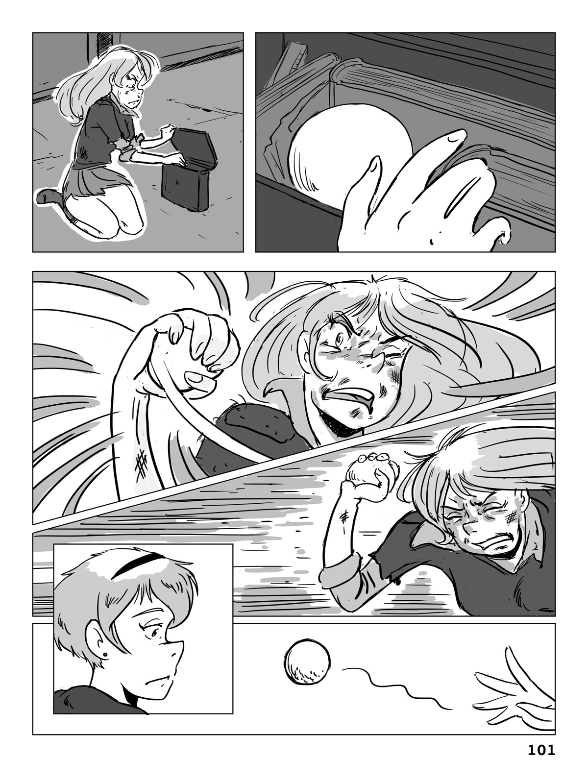 Hockey, Love, & GUTS! – Chapter 5 – Page 101