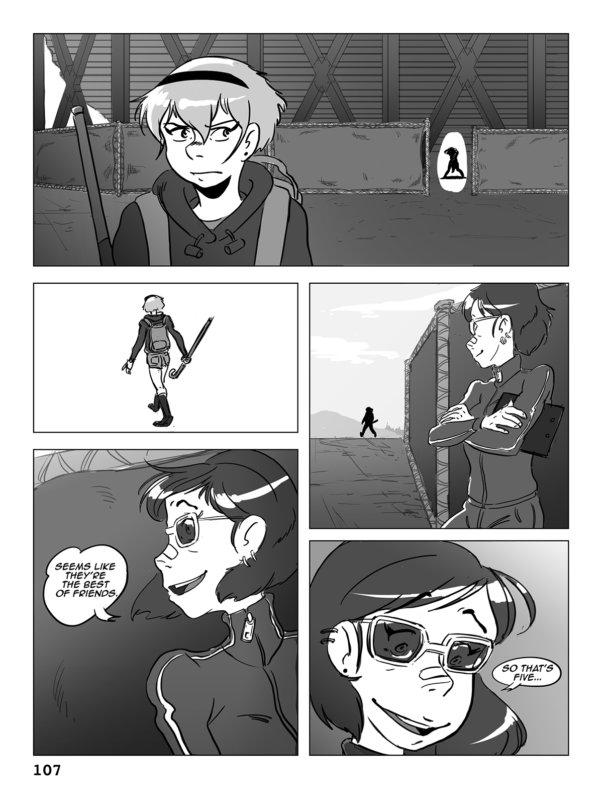 Hockey, Love, & GUTS! – Chapter 6 – Page 107