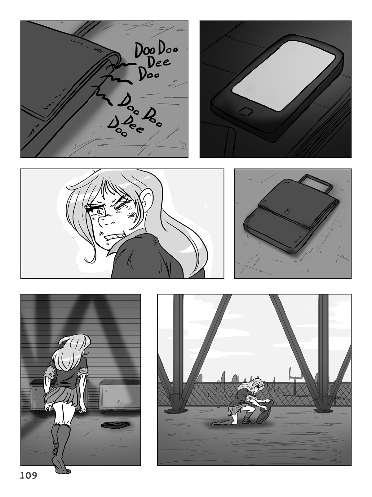 Hockey, Love, & GUTS! – Chapter 6 – Page 109