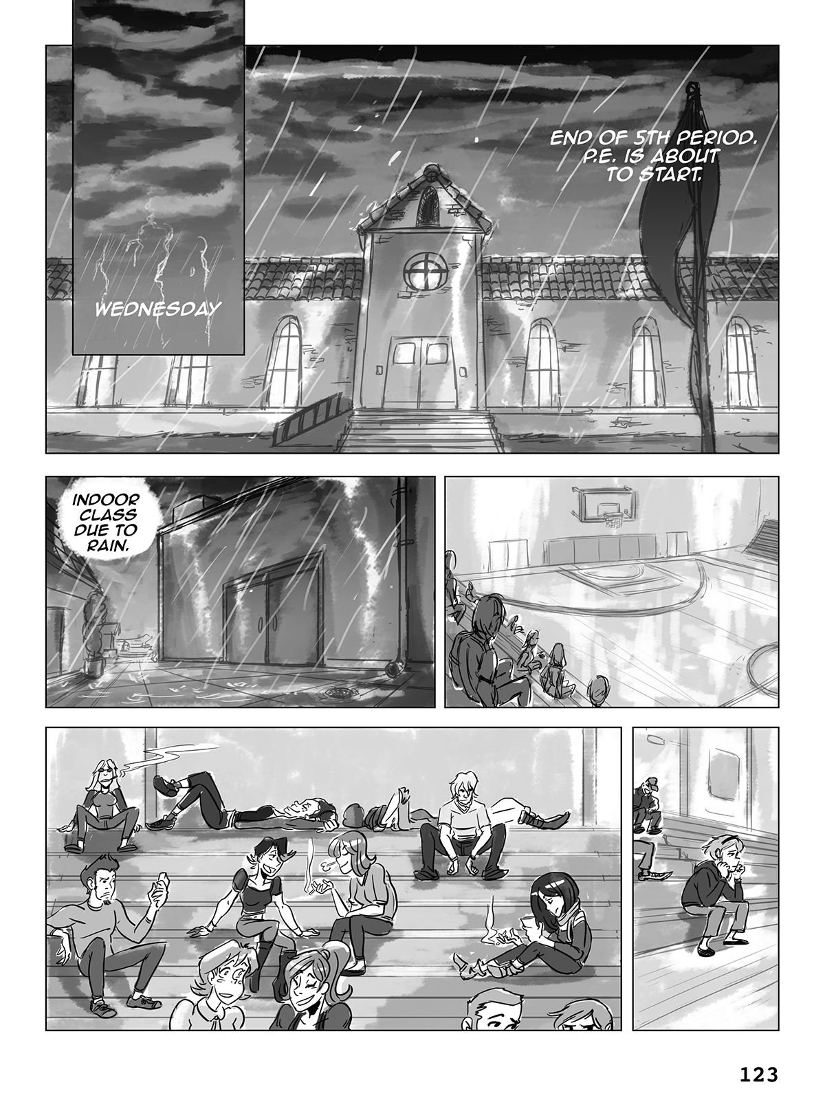 Hockey, Love, & GUTS! – Chapter 6 – Page 123