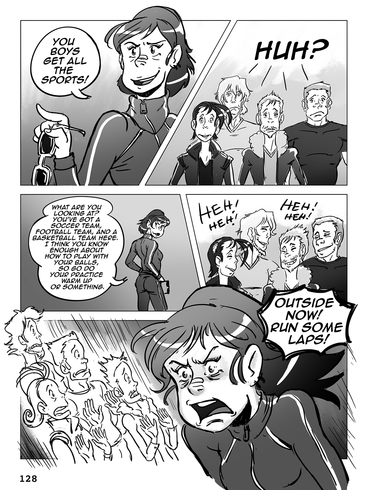 Hockey, Love, & GUTS! – Chapter 6 – Page 128