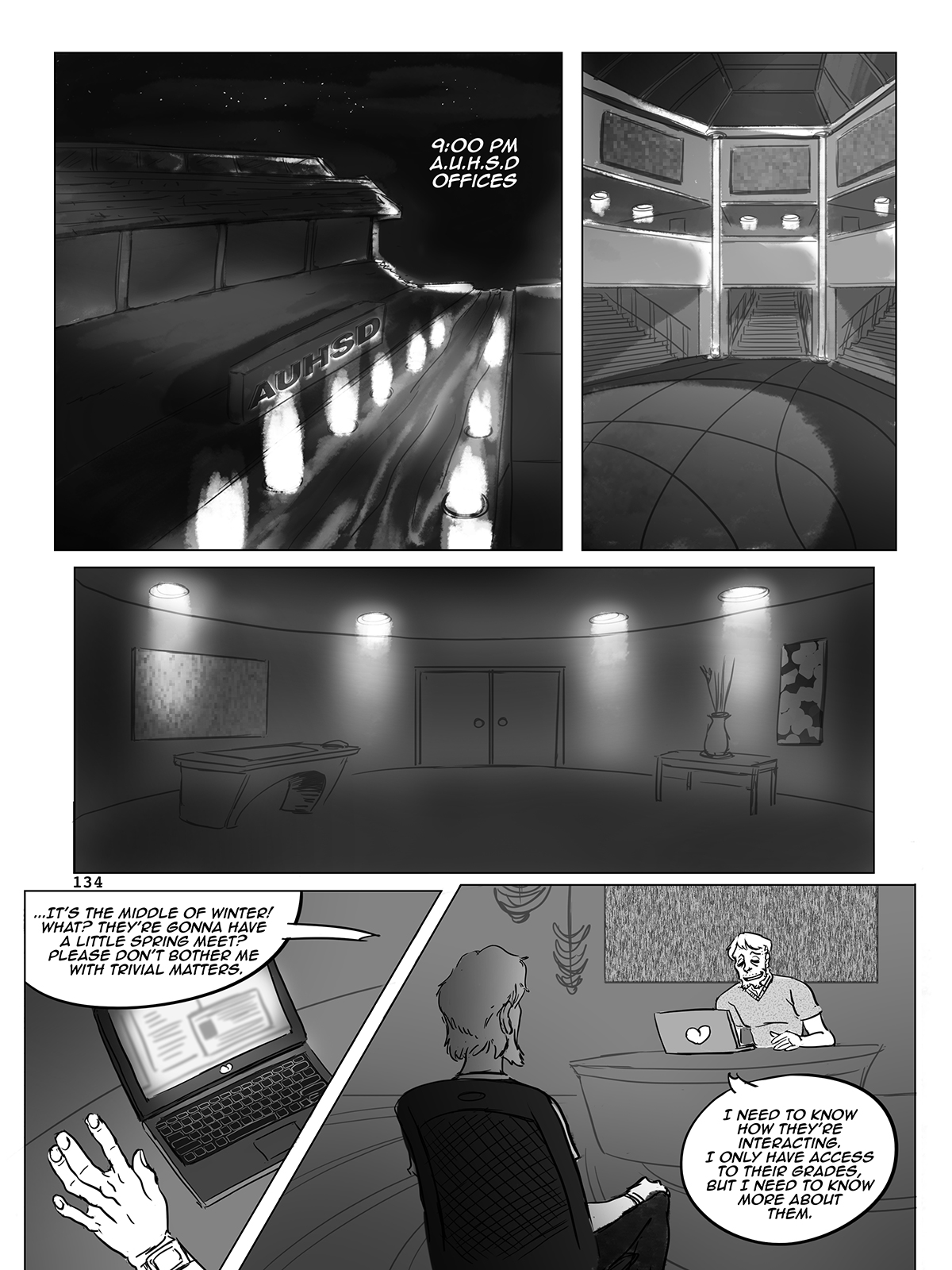 Hockey, Love, & GUTS! – Chapter 6 – Page 134