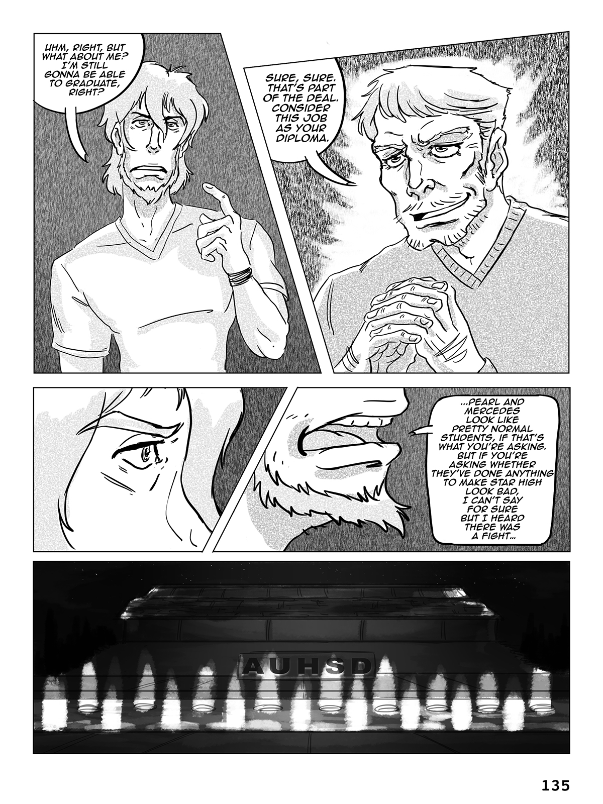 Hockey, Love, & GUTS! – Chapter 6 – Page 135