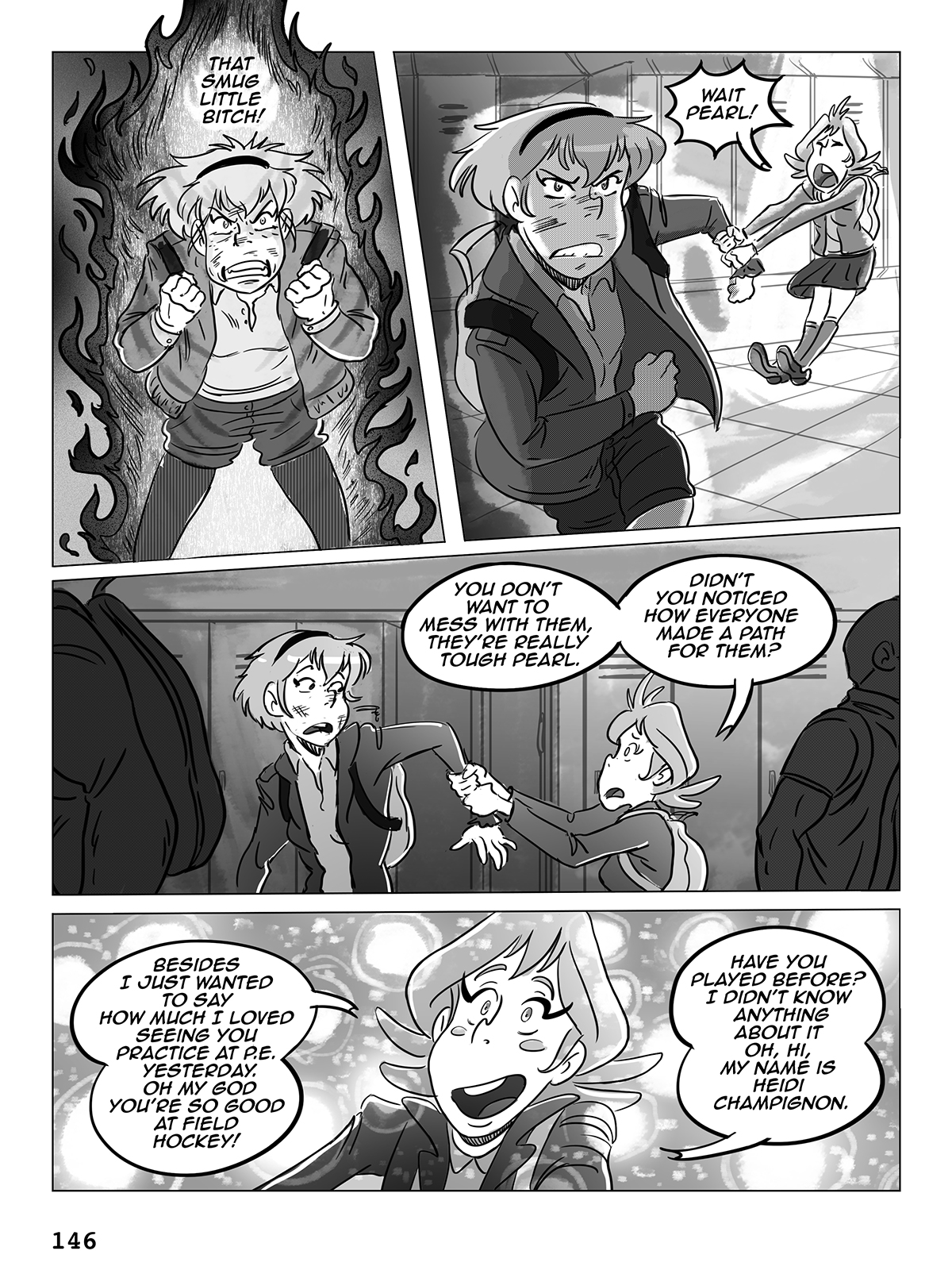 Hockey, Love, & GUTS! – Chapter 7 – Page 146