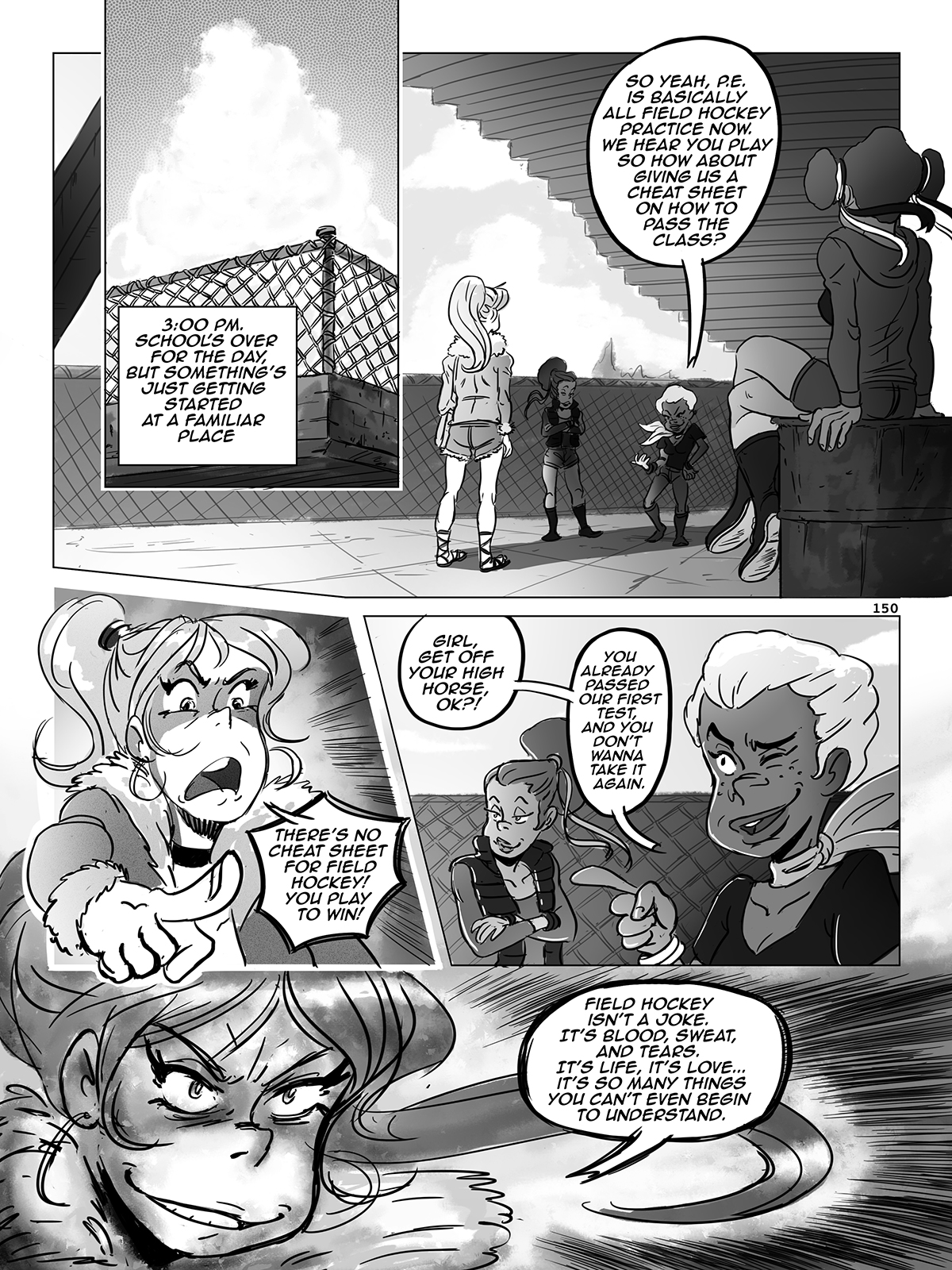 Hockey, Love, & GUTS! – Chapter 7 – Page 150