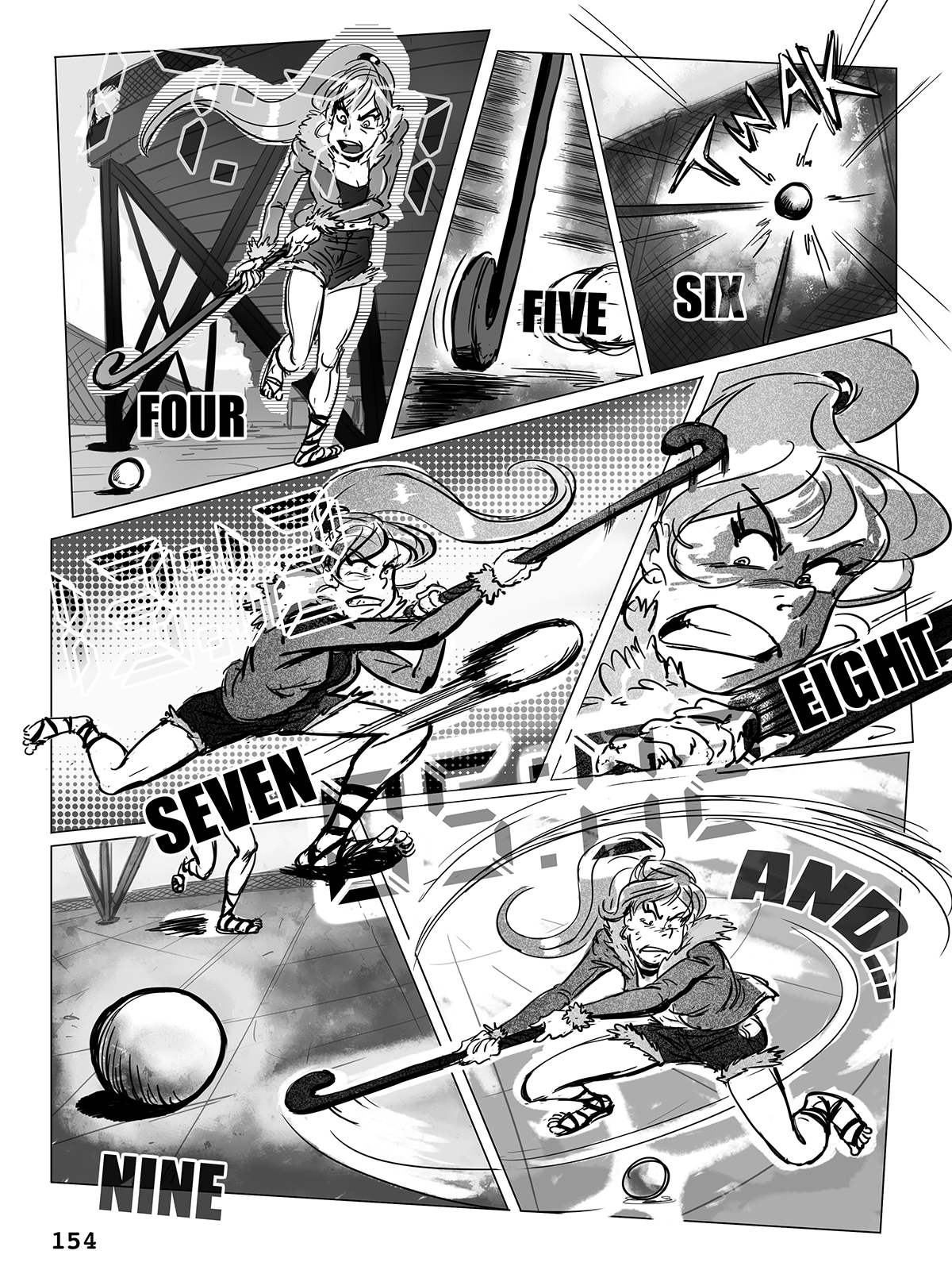 Hockey, Love, & GUTS! – Chapter 7 – Page 154