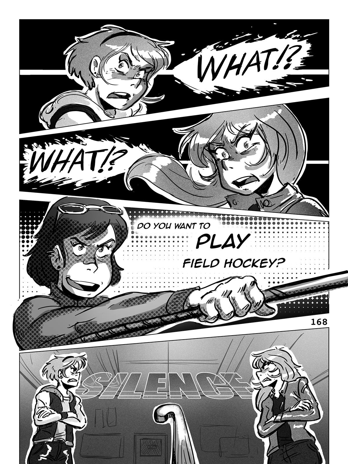Hockey, Love, & GUTS! – Chapter 7 – Page 168