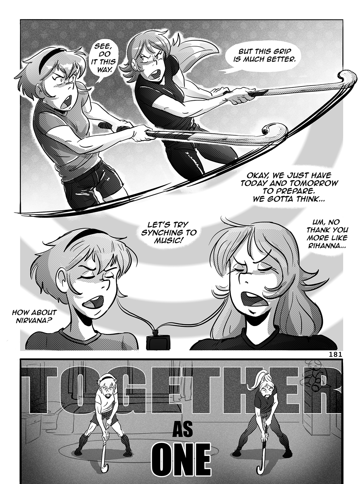 Hockey, Love, & GUTS! – Chapter 8 – Page 181
