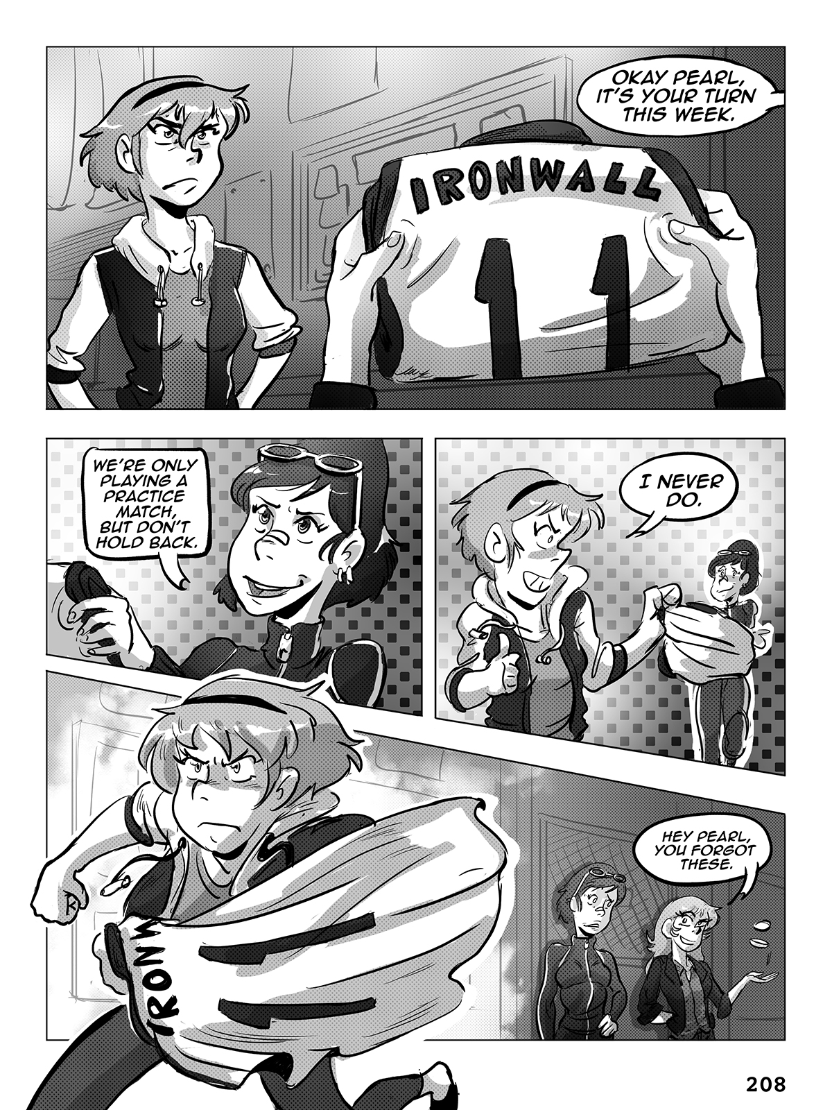 Hockey, Love, & GUTS! – Chapter 8 – Page 208