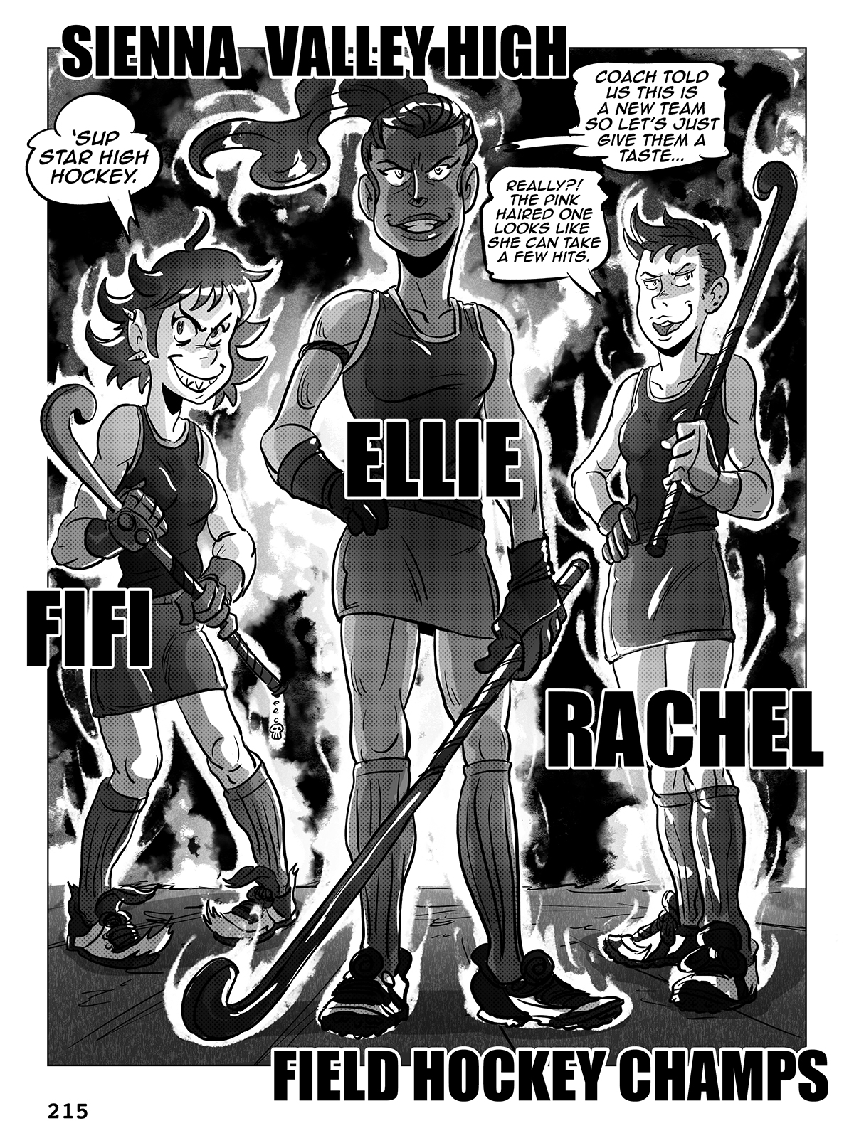 Hockey, Love, & GUTS! – Chapter 8 – Page 215