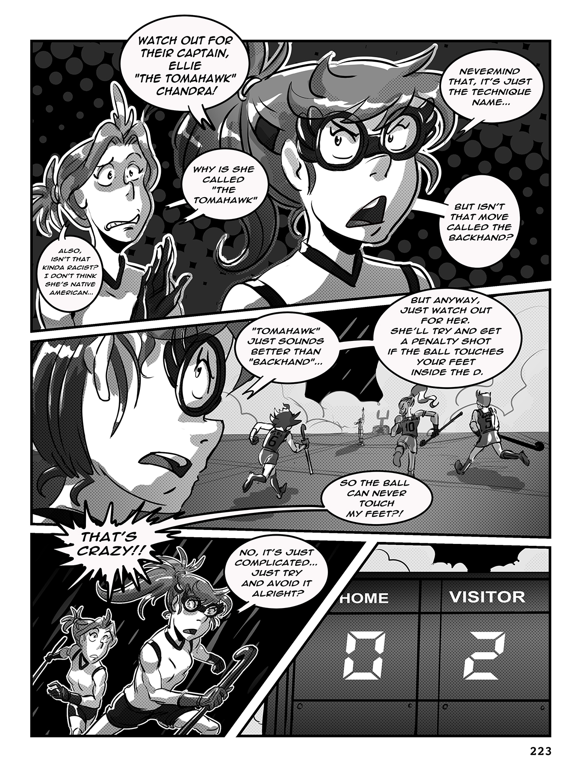 Hockey, Love, & GUTS! – Chapter 9 – Page 223