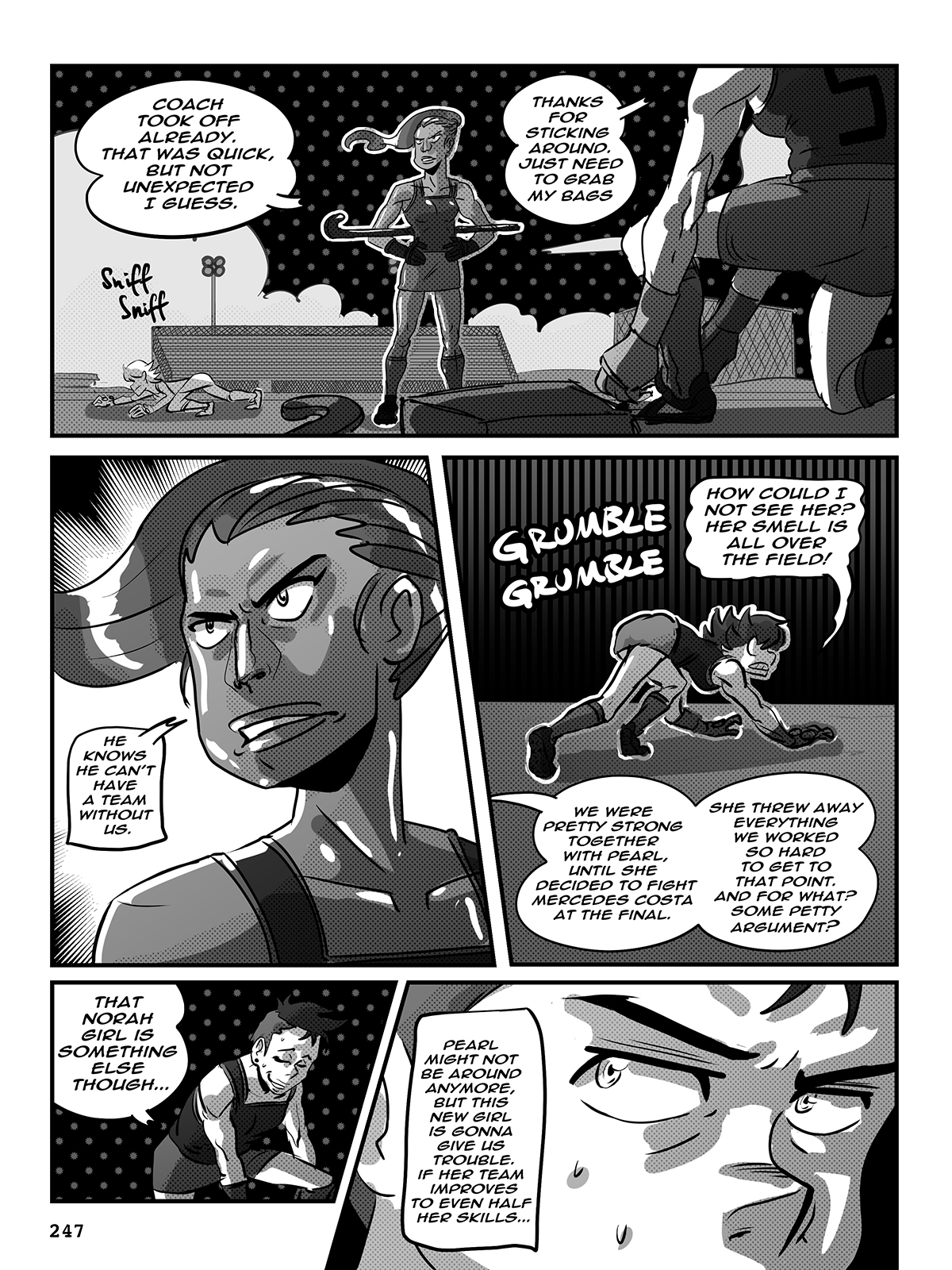 Hockey, Love, & GUTS! – Chapter 9 – Page 247