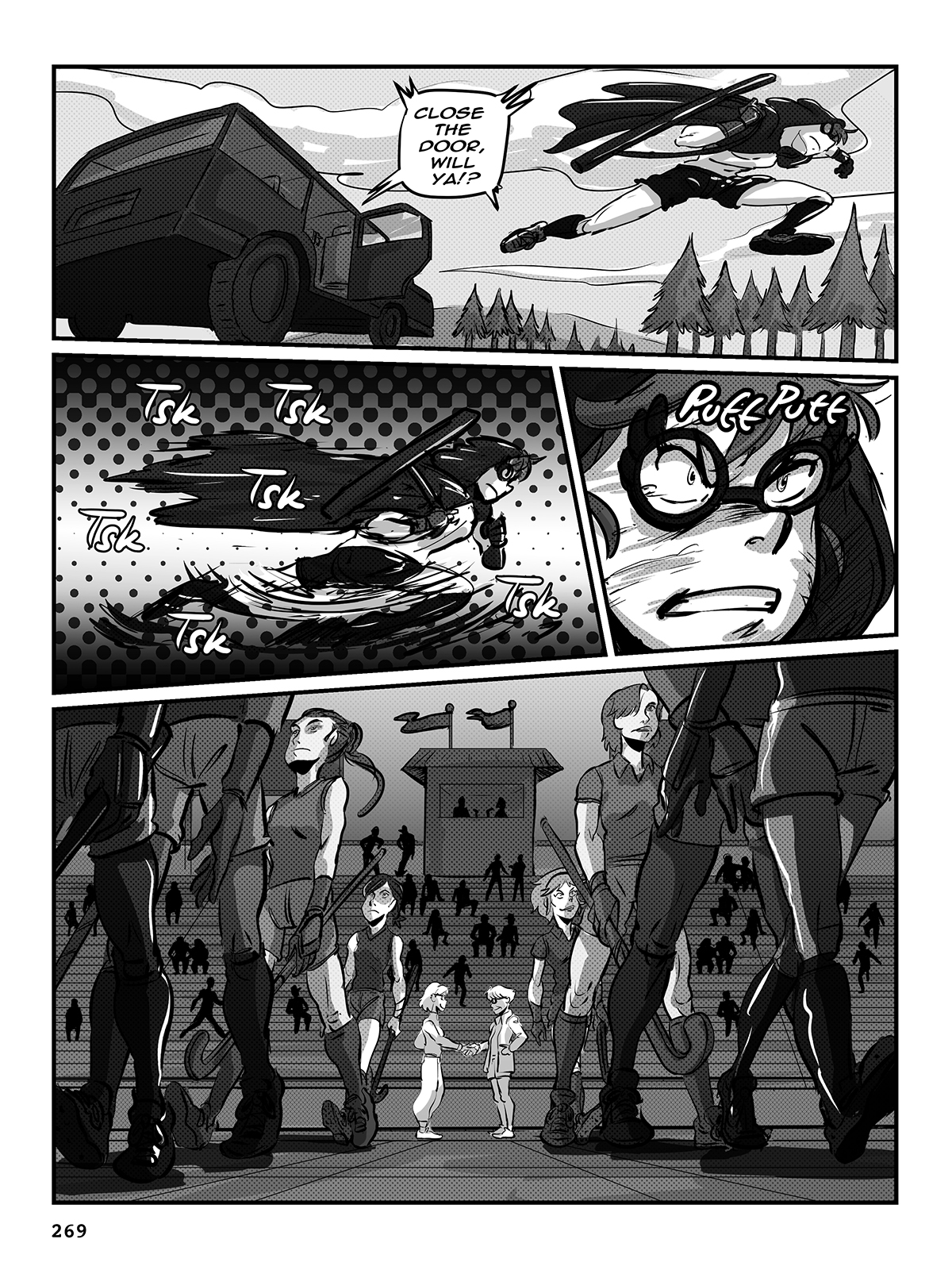 Hockey, Love, & GUTS! – Chapter 9 – Page 269
