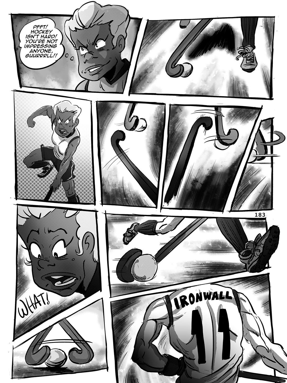Hockey, Love, & GUTS! – Chapter 8 – Page 183
