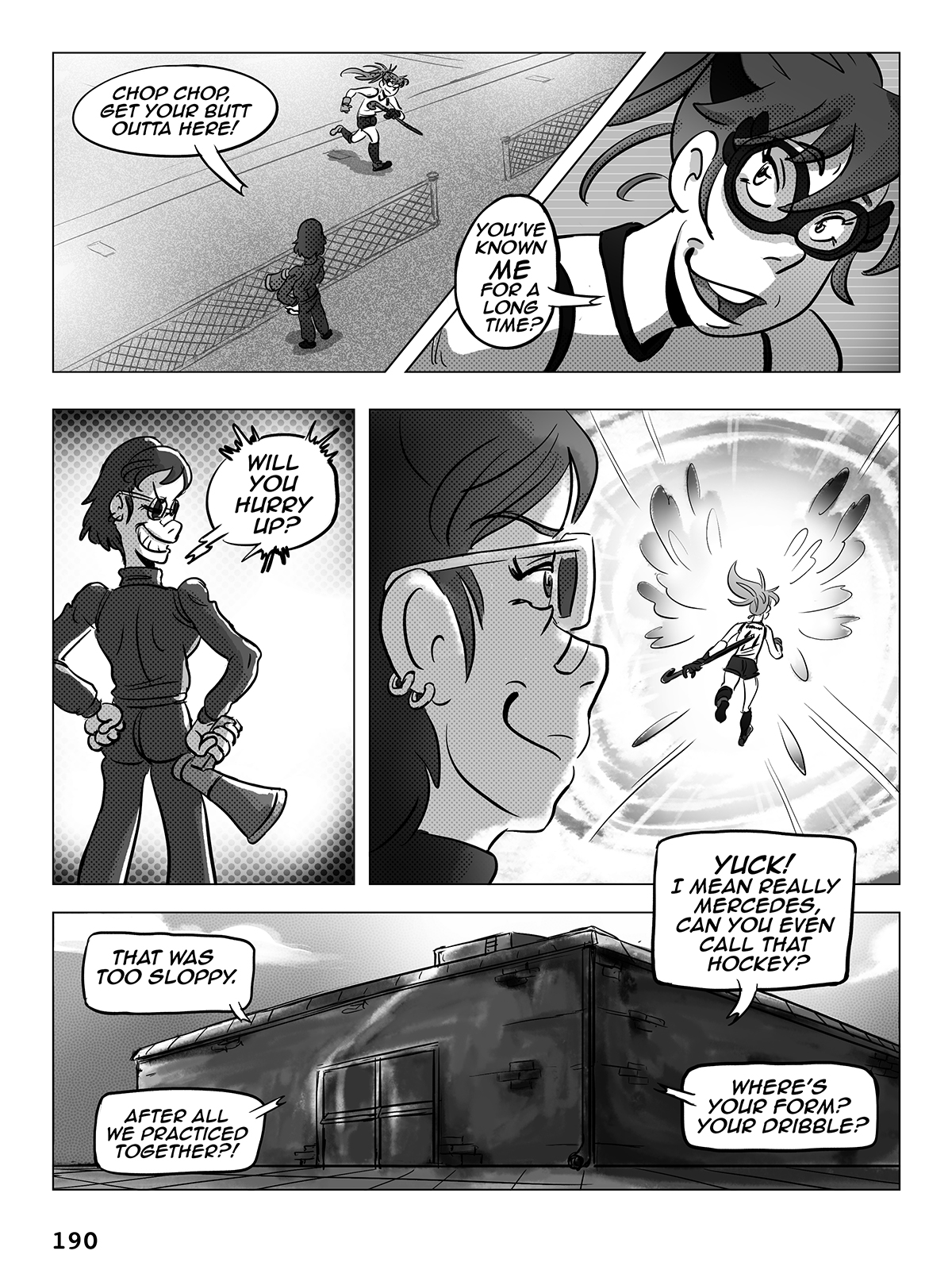 Hockey, Love, & GUTS! – Chapter 8 – Page 190