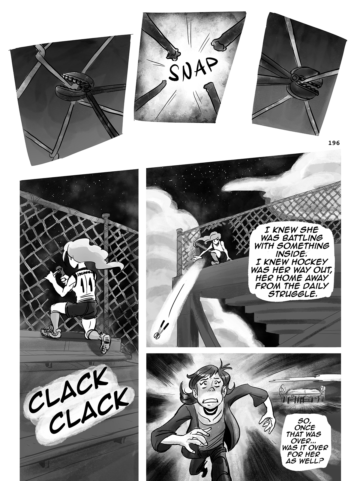 Hockey, Love, & GUTS! – Chapter 8 – Page 197