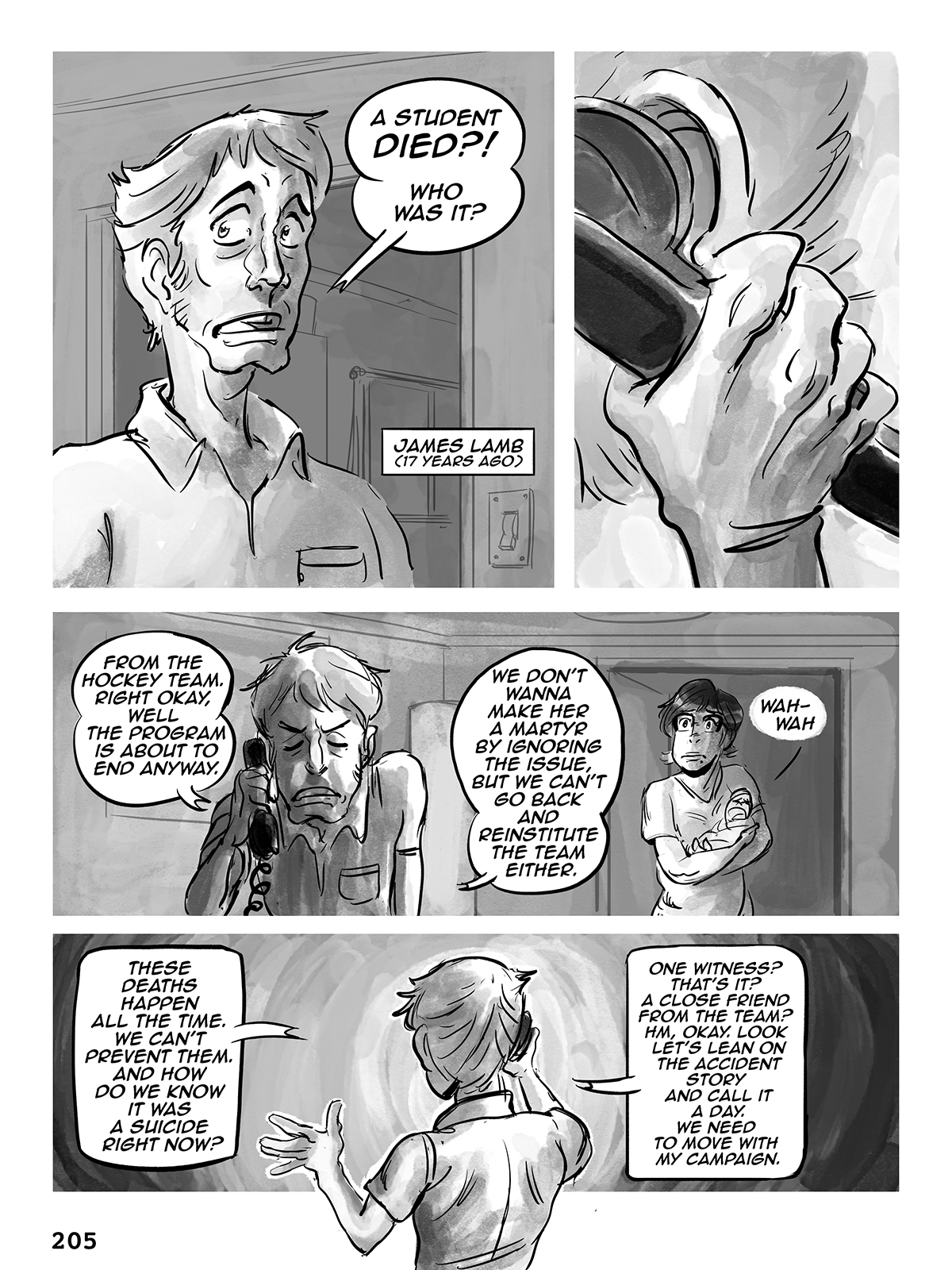Hockey, Love, & GUTS! – Chapter 8 – Page 205