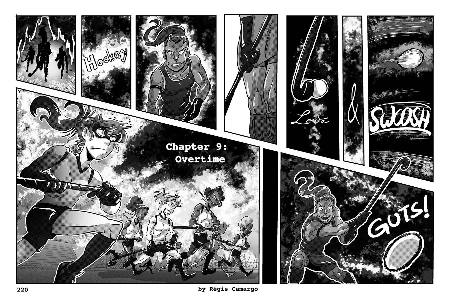 Hockey, Love, & GUTS! – Chapter 9 – Page 220