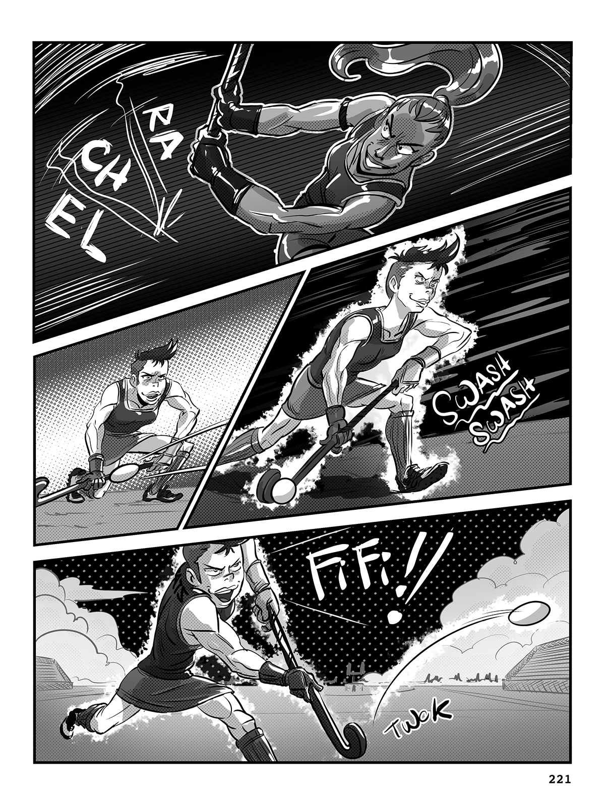 Hockey, Love, & GUTS! – Chapter 9 – Page 221