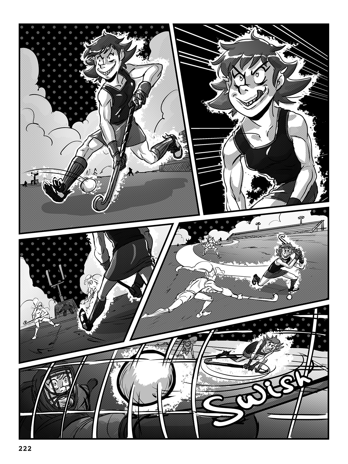 Hockey, Love, & GUTS! – Chapter 9 – Page 222