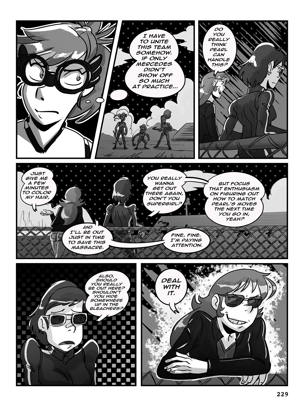 Hockey, Love, & GUTS! – Chapter 9 – Page 229