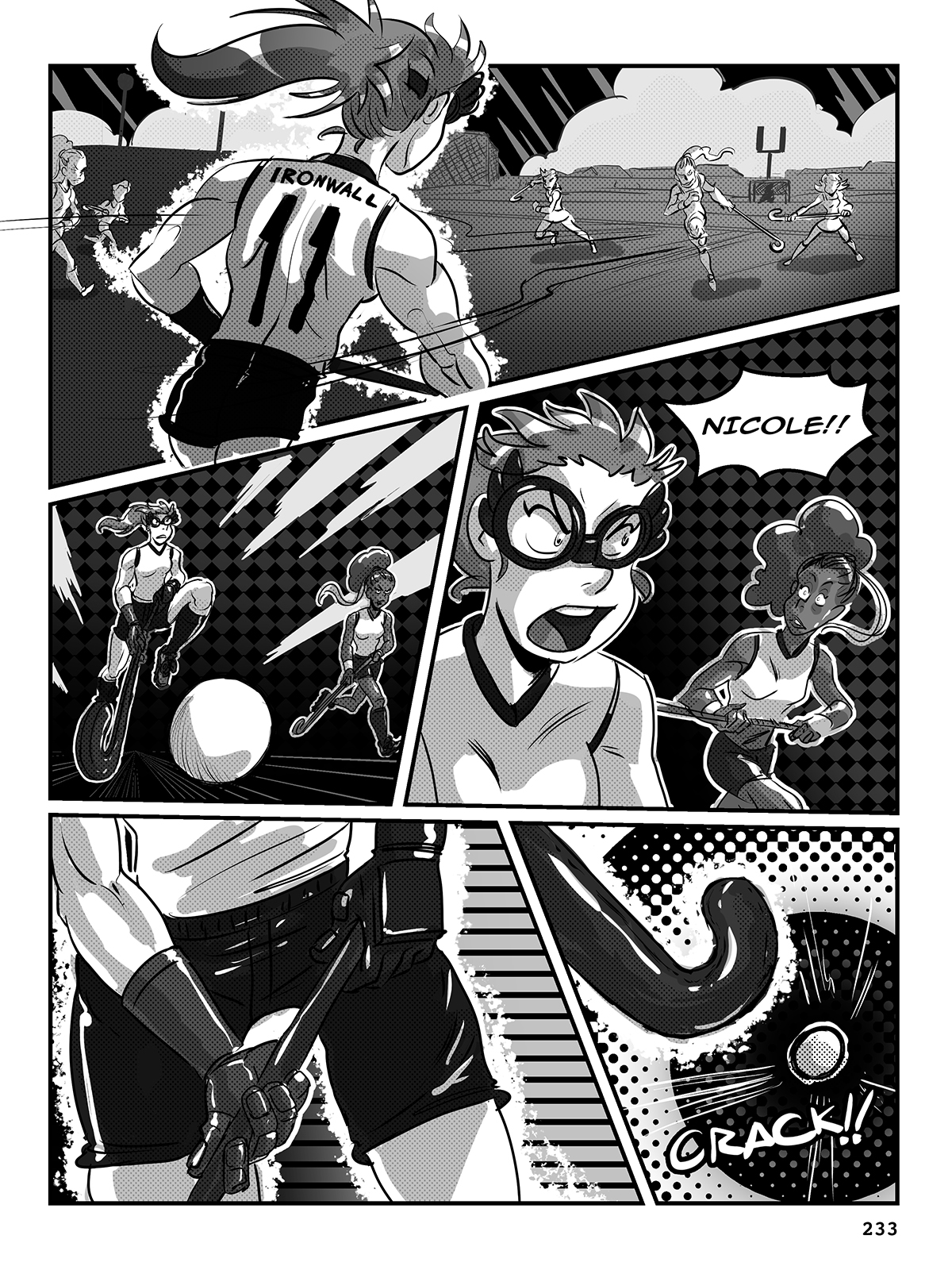 Hockey, Love, & GUTS! – Chapter 9 – Page 233