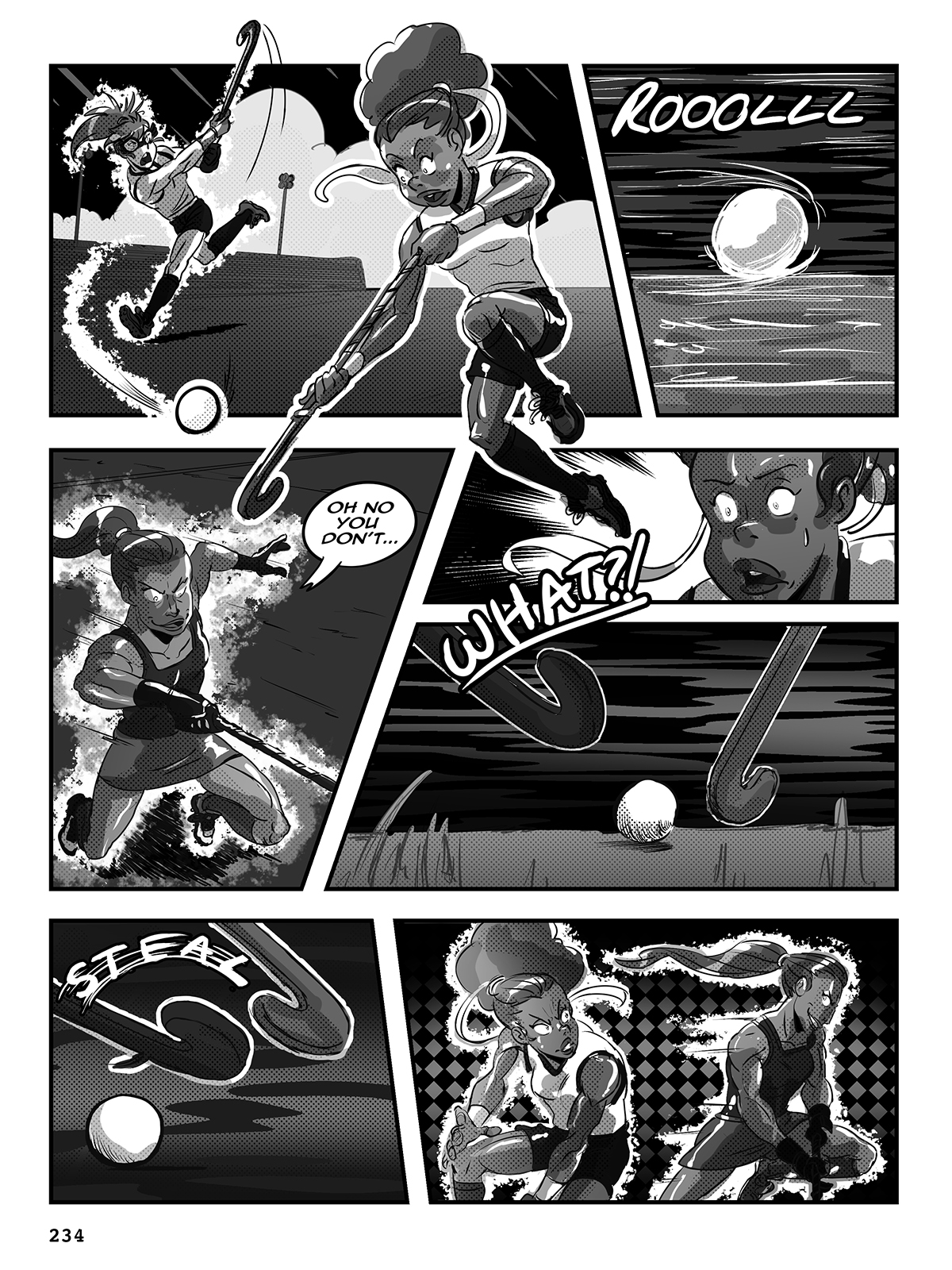 Hockey, Love, & GUTS! – Chapter 9 – Page 234