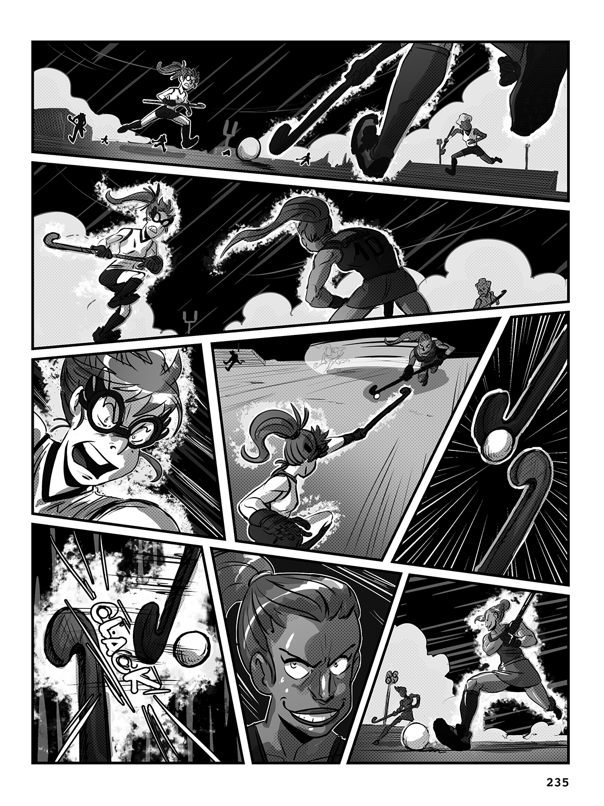 Hockey, Love, & GUTS! – Chapter 9 – Page 235