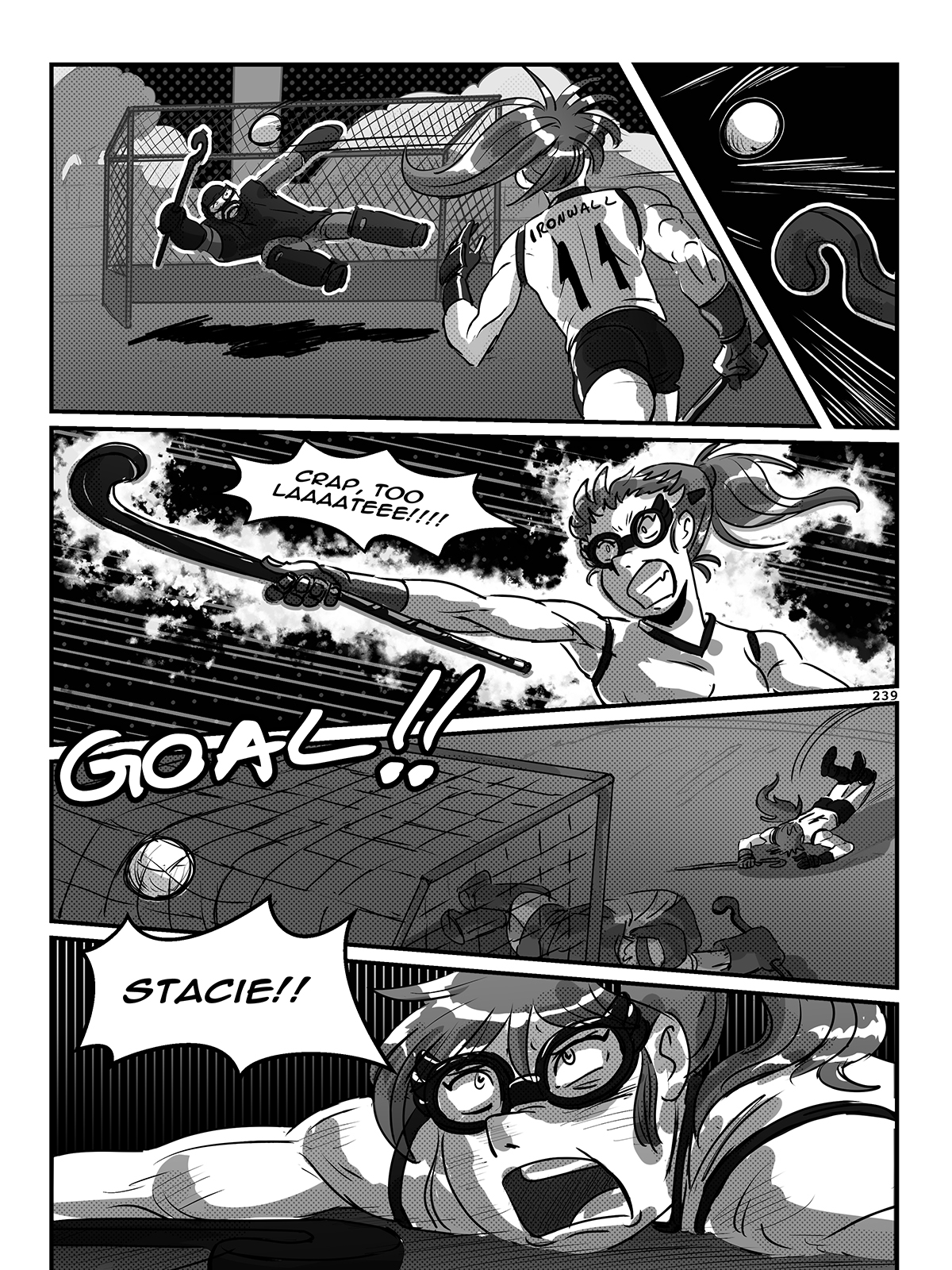 Hockey, Love, & GUTS! – Chapter 9 – Page 239