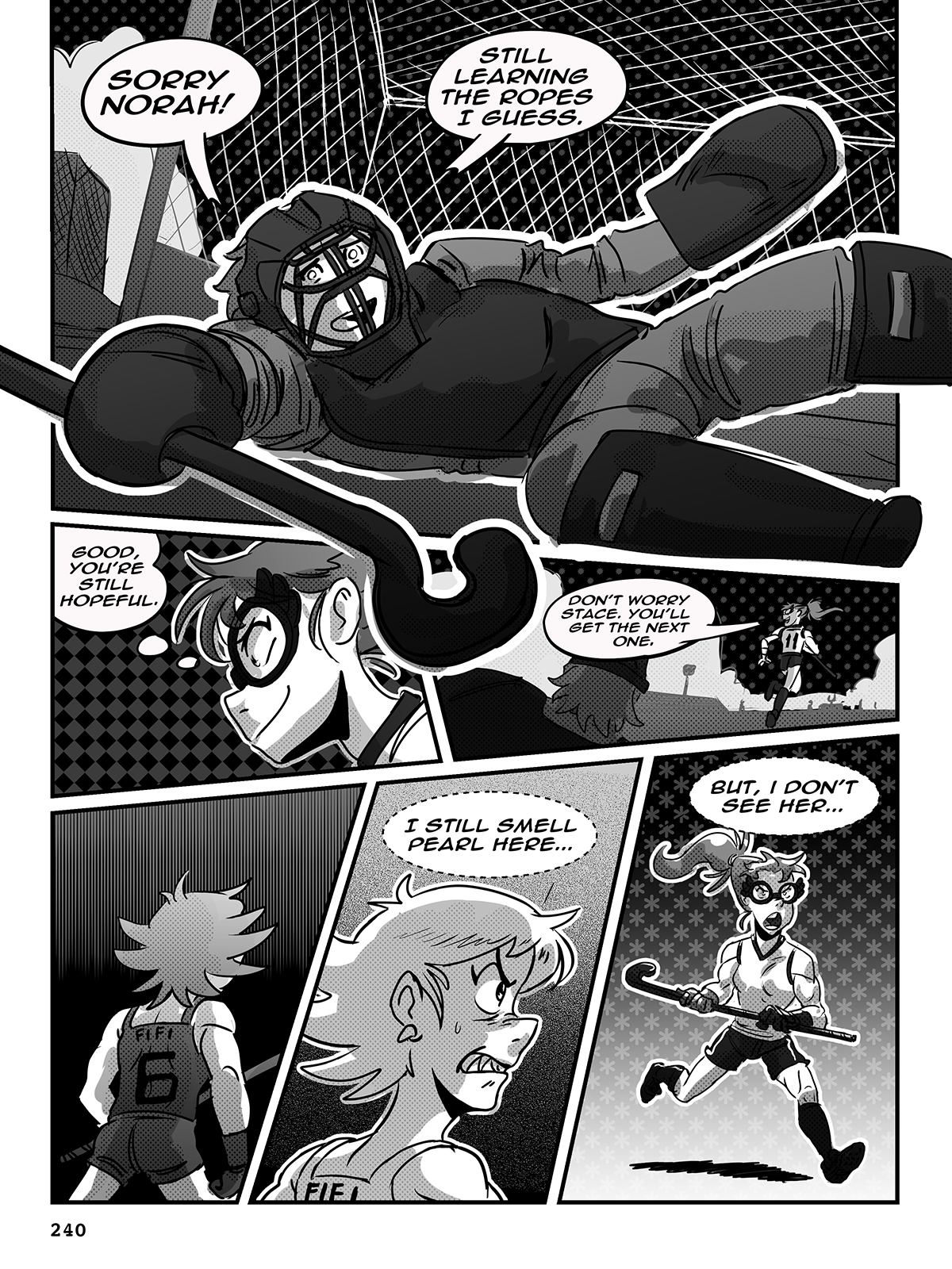 Hockey, Love, & GUTS! – Chapter 9 – Page 240