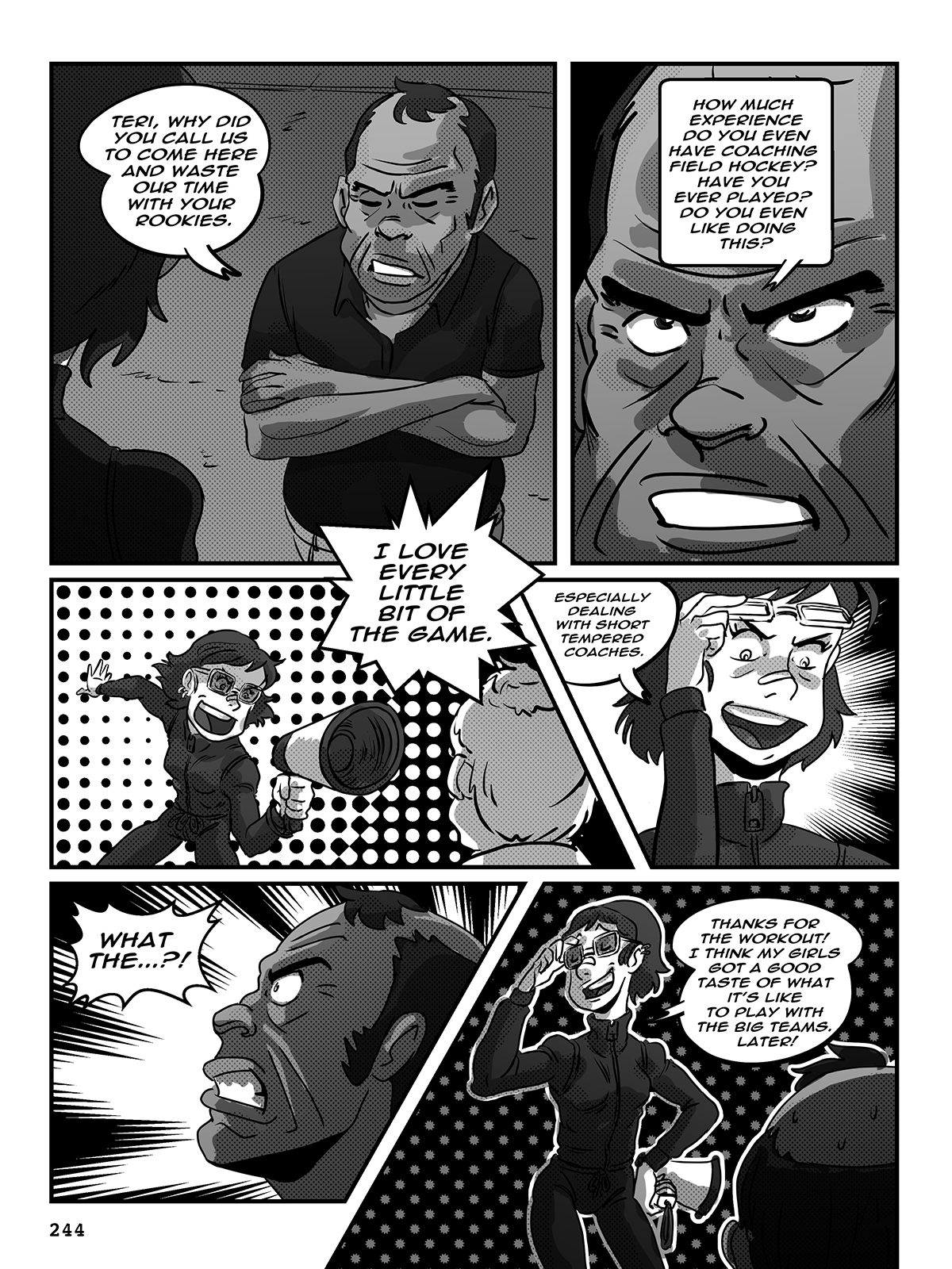Hockey, Love, & GUTS! – Chapter 9 – Page 244