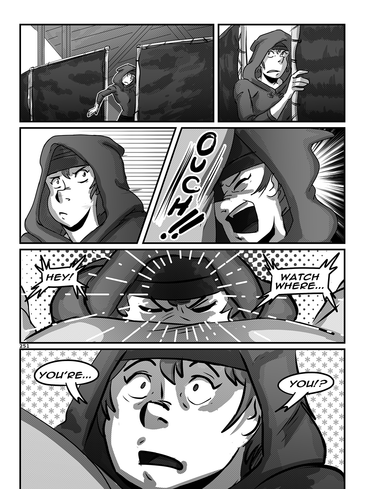 Hockey, Love, & GUTS! – Chapter 9 – Page 251