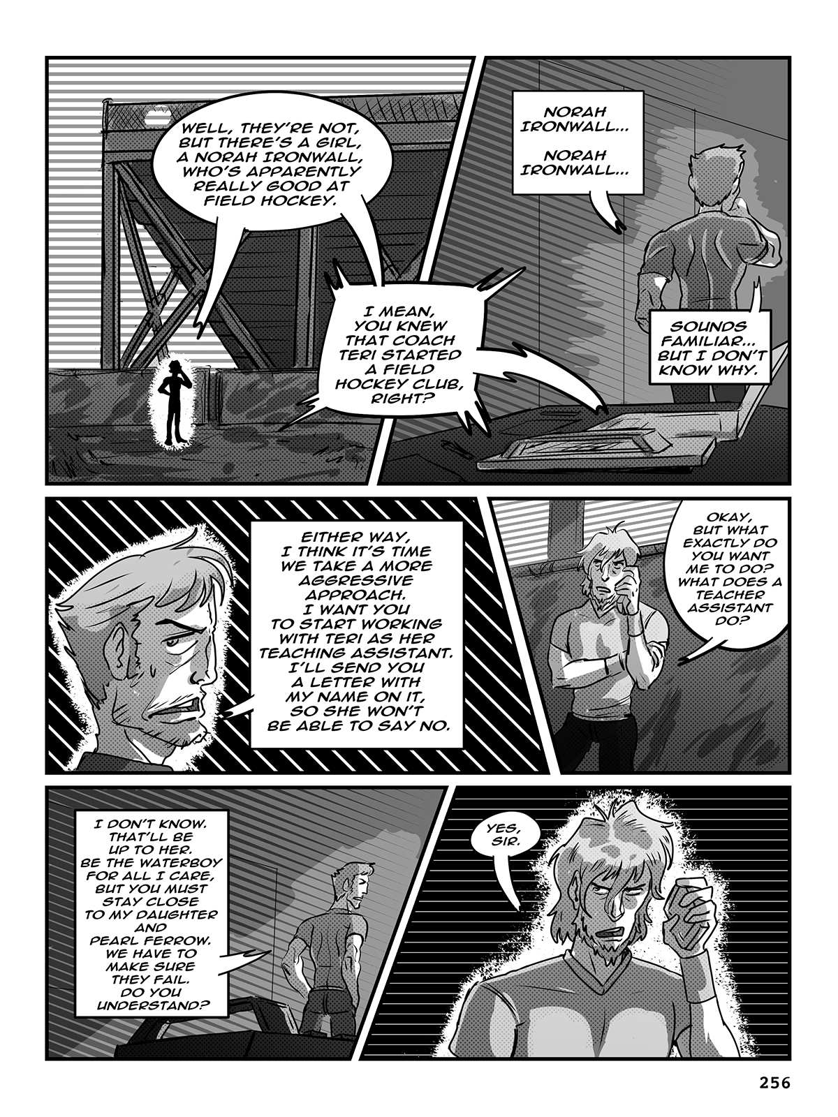 Hockey, Love, & GUTS! – Chapter 9 – Page 256
