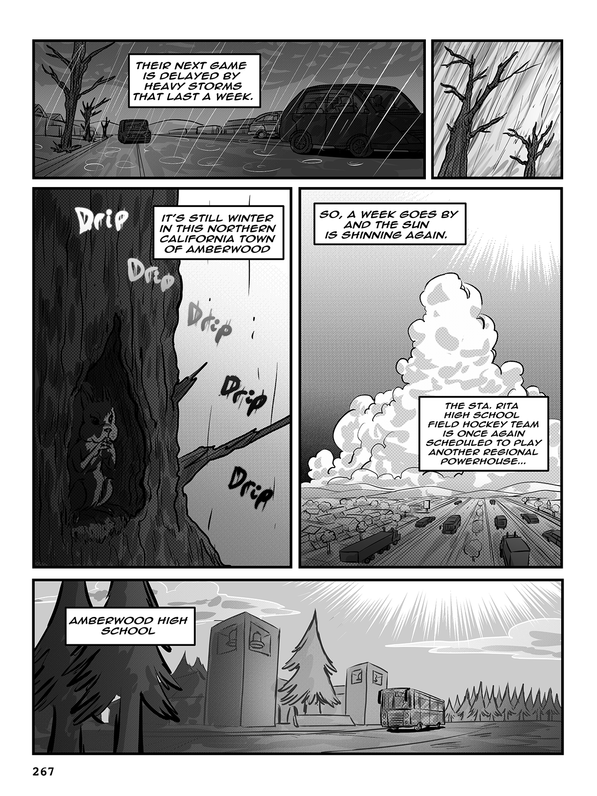 Hockey, Love, & GUTS! – Chapter 9 – Page 267