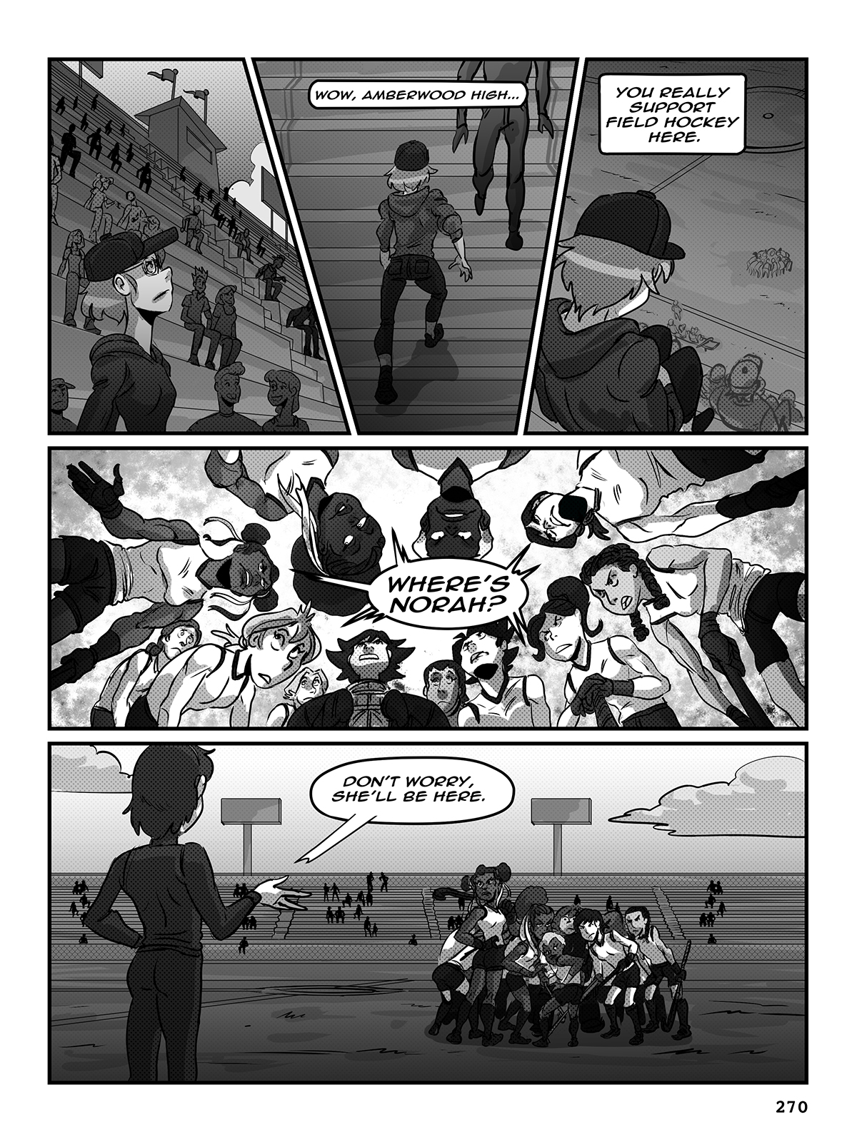 Hockey, Love, & GUTS! – Chapter 9 – Page 270